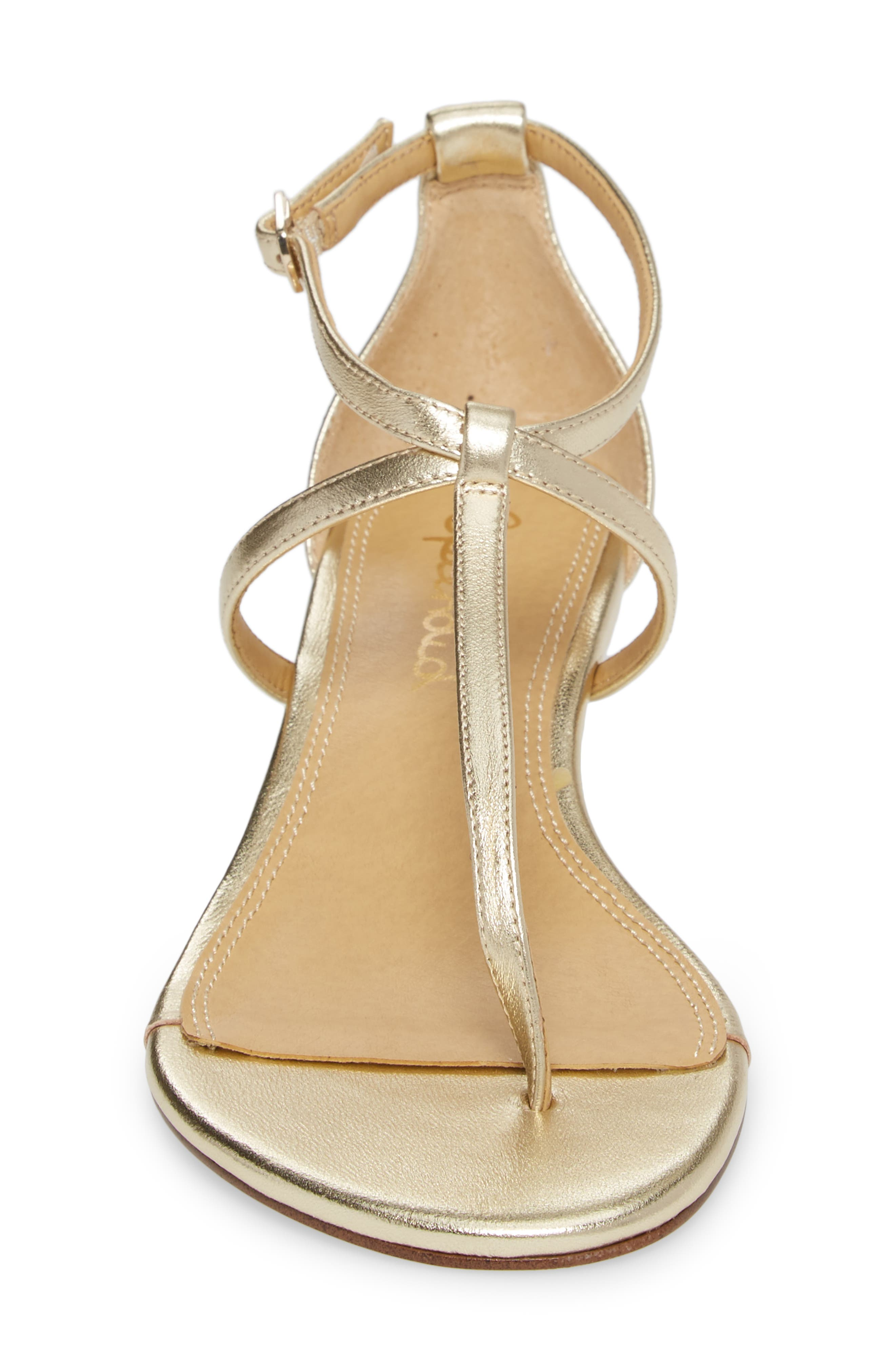 Bryce T-Strap Wedge Sandal,                             Alternate thumbnail 24, color,
