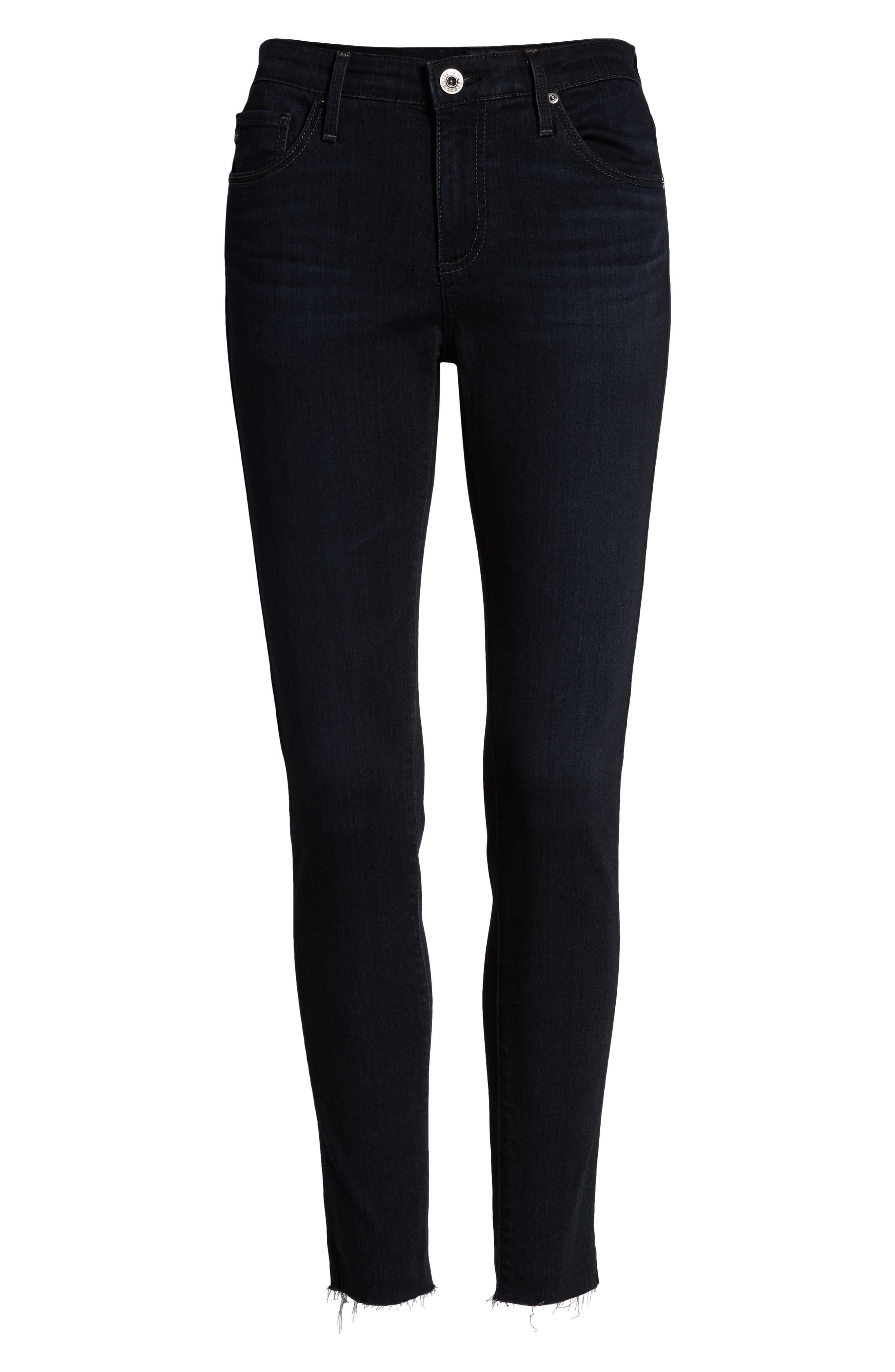 AG,                             The Legging Ankle Jeans,                             Alternate thumbnail 7, color,                             AUDACIOUS