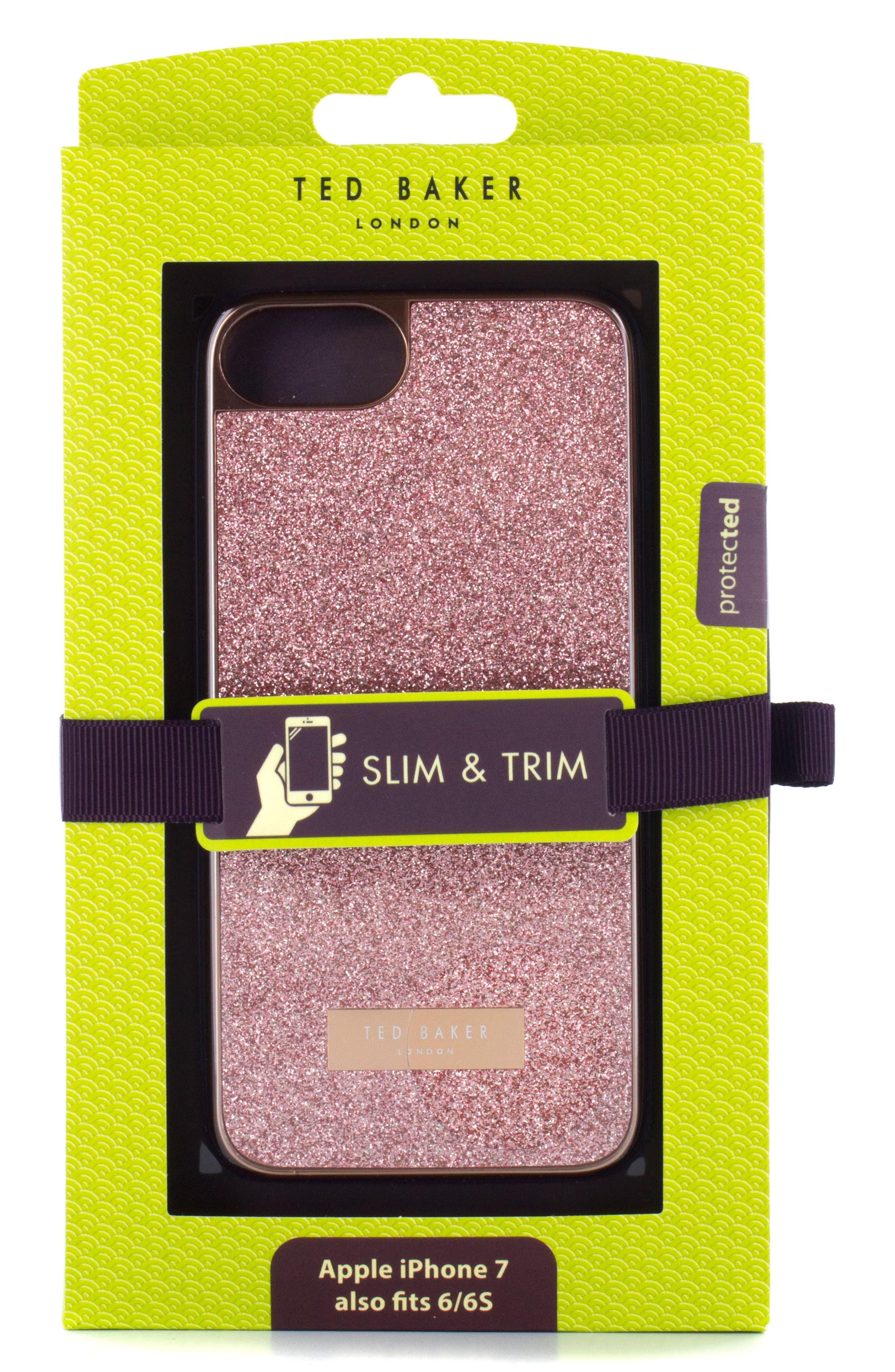 Sparkles iPhone 6/6s/7/8 & 6/6s/7/8 Plus Case,                             Alternate thumbnail 8, color,