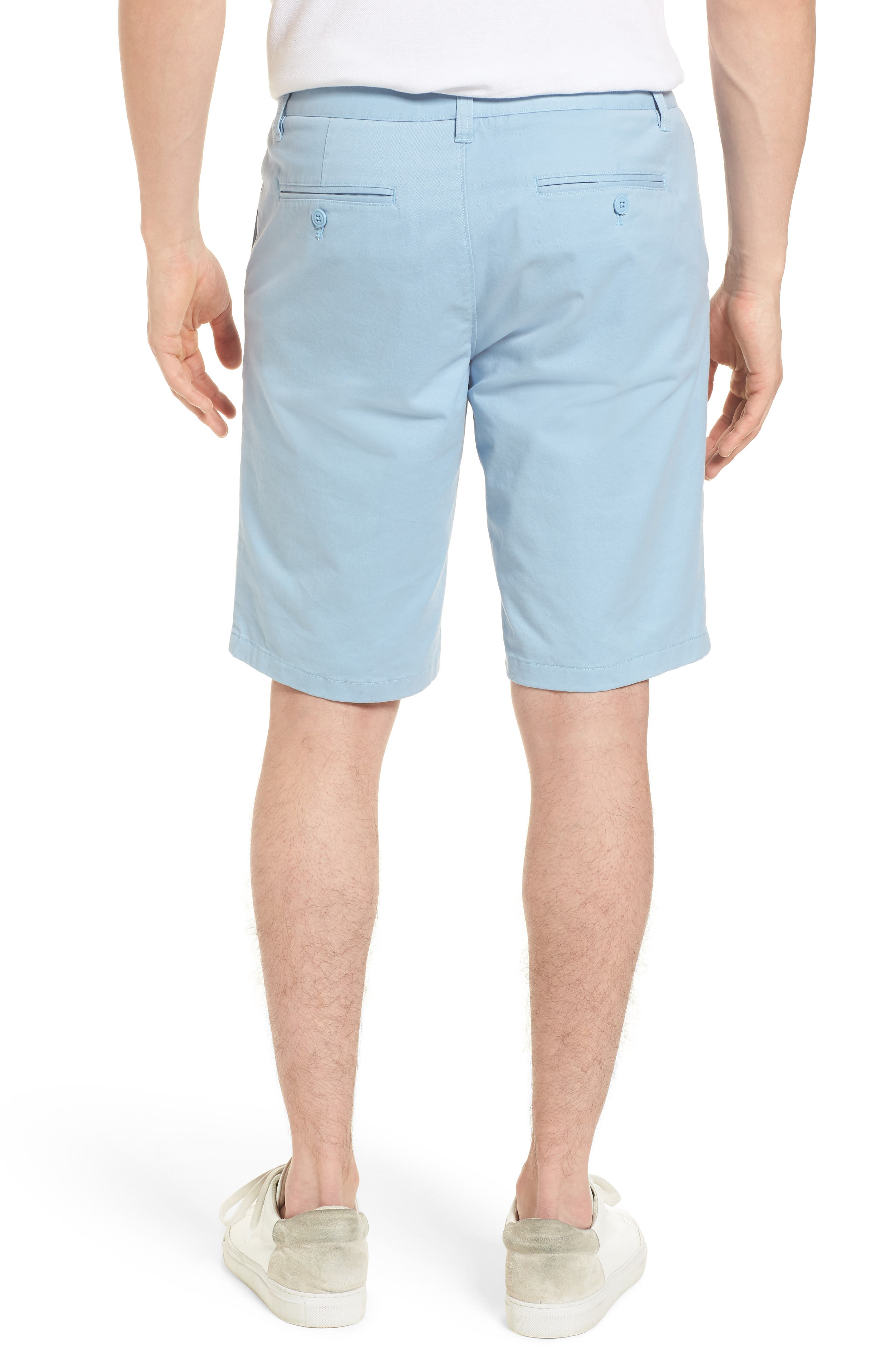 Stretch Washed Chino 11-Inch Shorts,                             Alternate thumbnail 15, color,