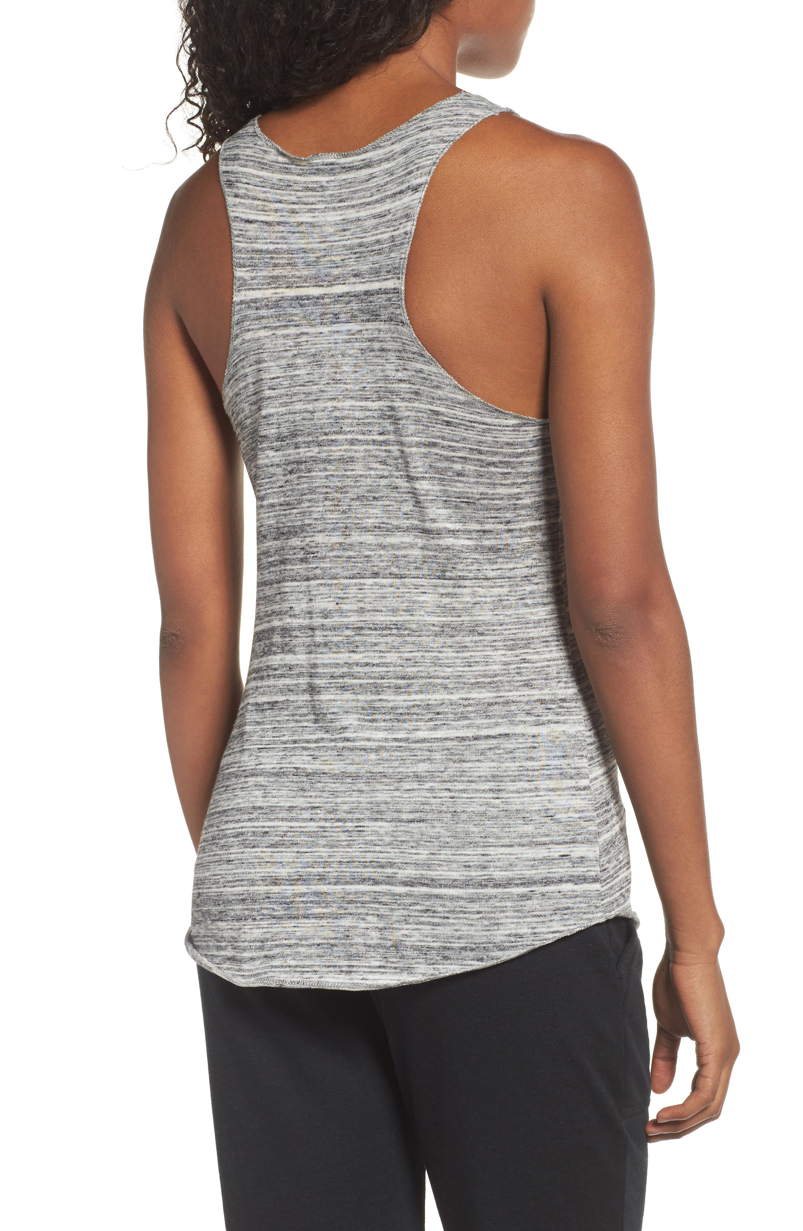 Meegs Racerback Tank,                             Alternate thumbnail 2, color,