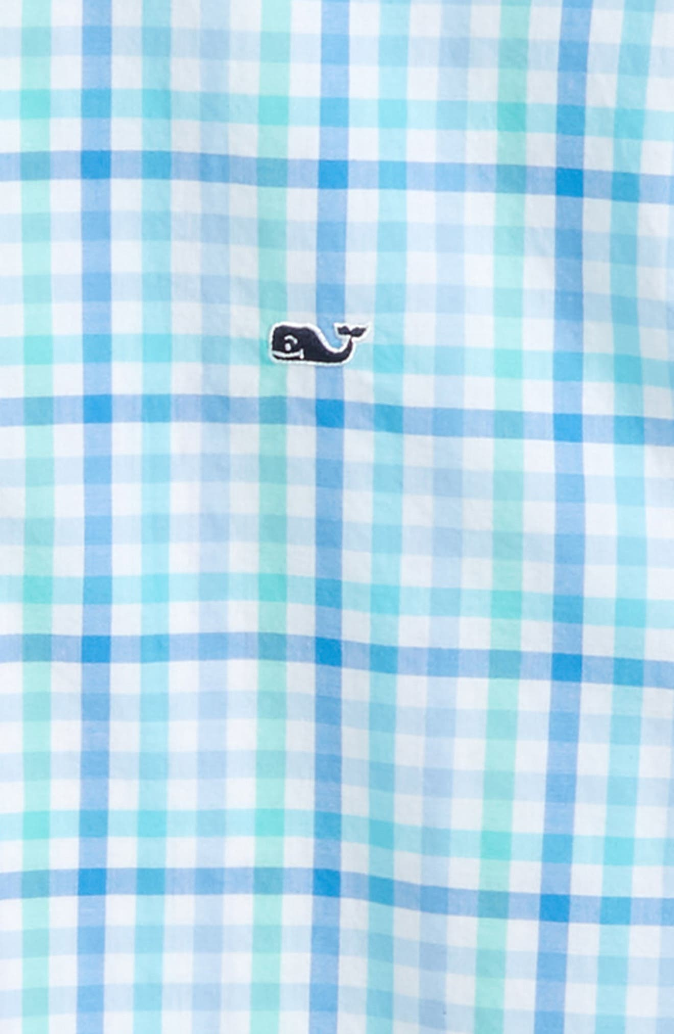 Guana Cay Gingham Check Woven Shirt,                             Alternate thumbnail 2, color,