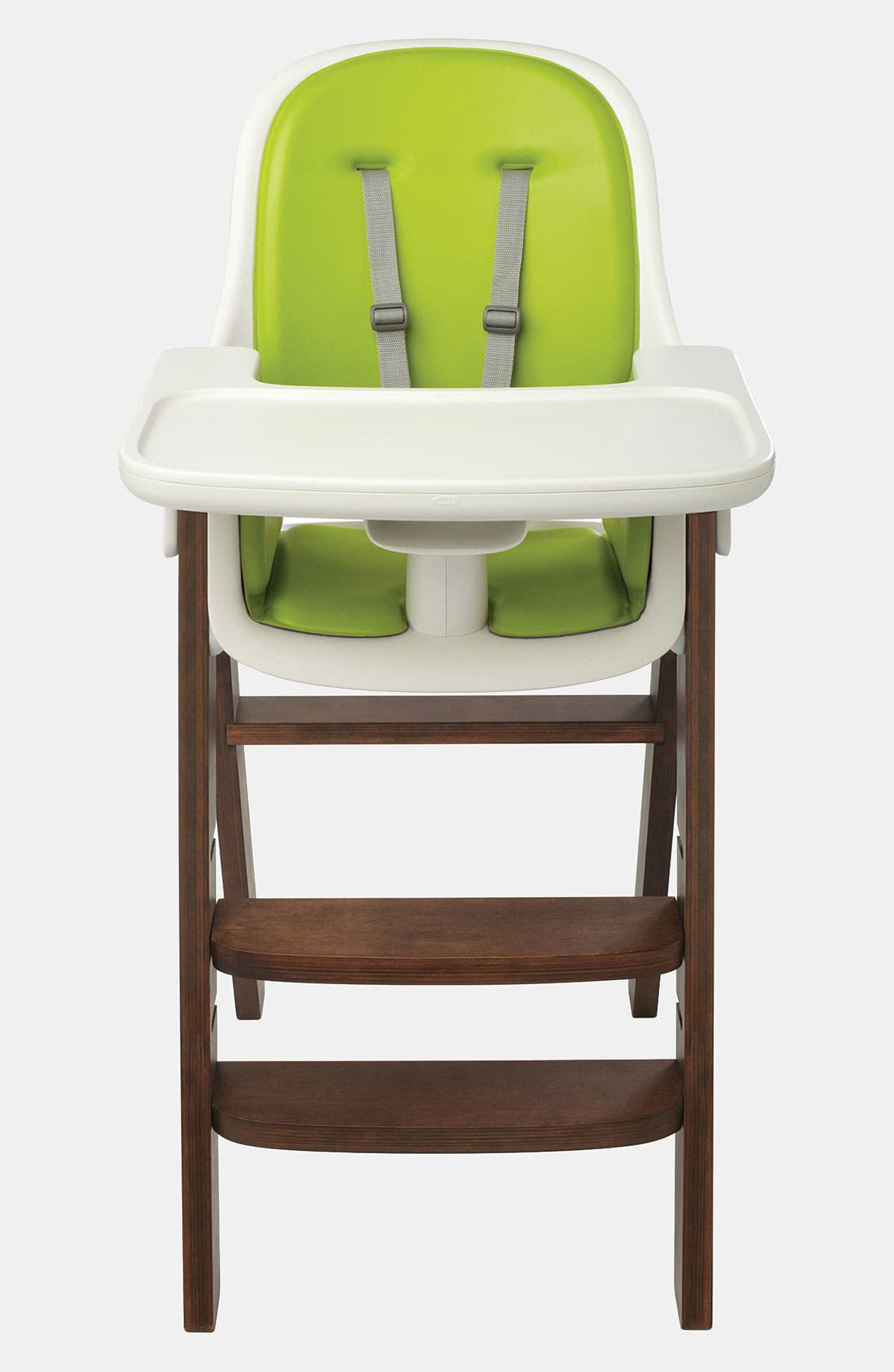 'Sprout' Chair, Main, color, GREEN/ WALNUT