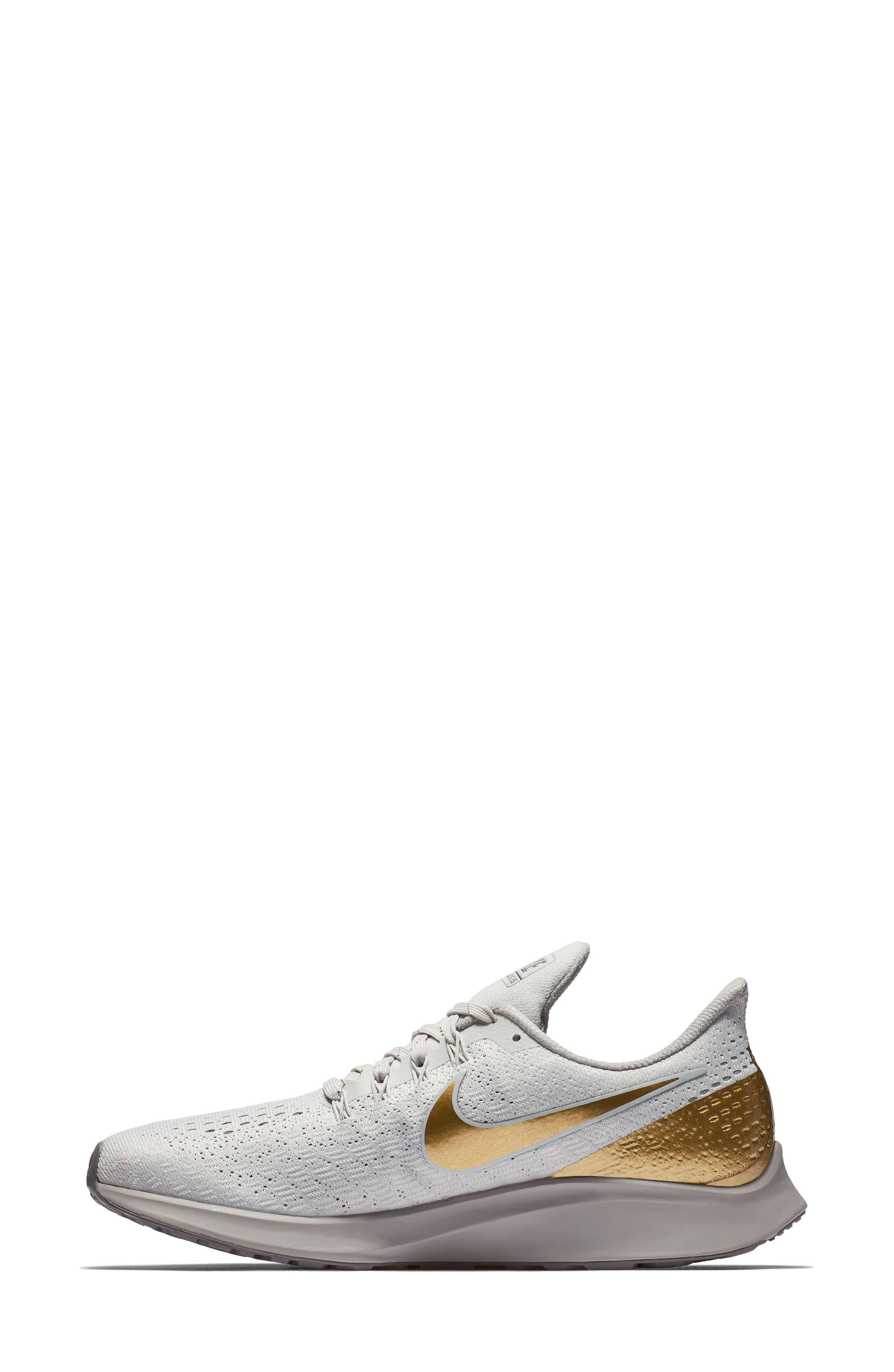 Air Zoom Pegasus 35 Premium Running Shoe,                             Alternate thumbnail 7, color,                             022