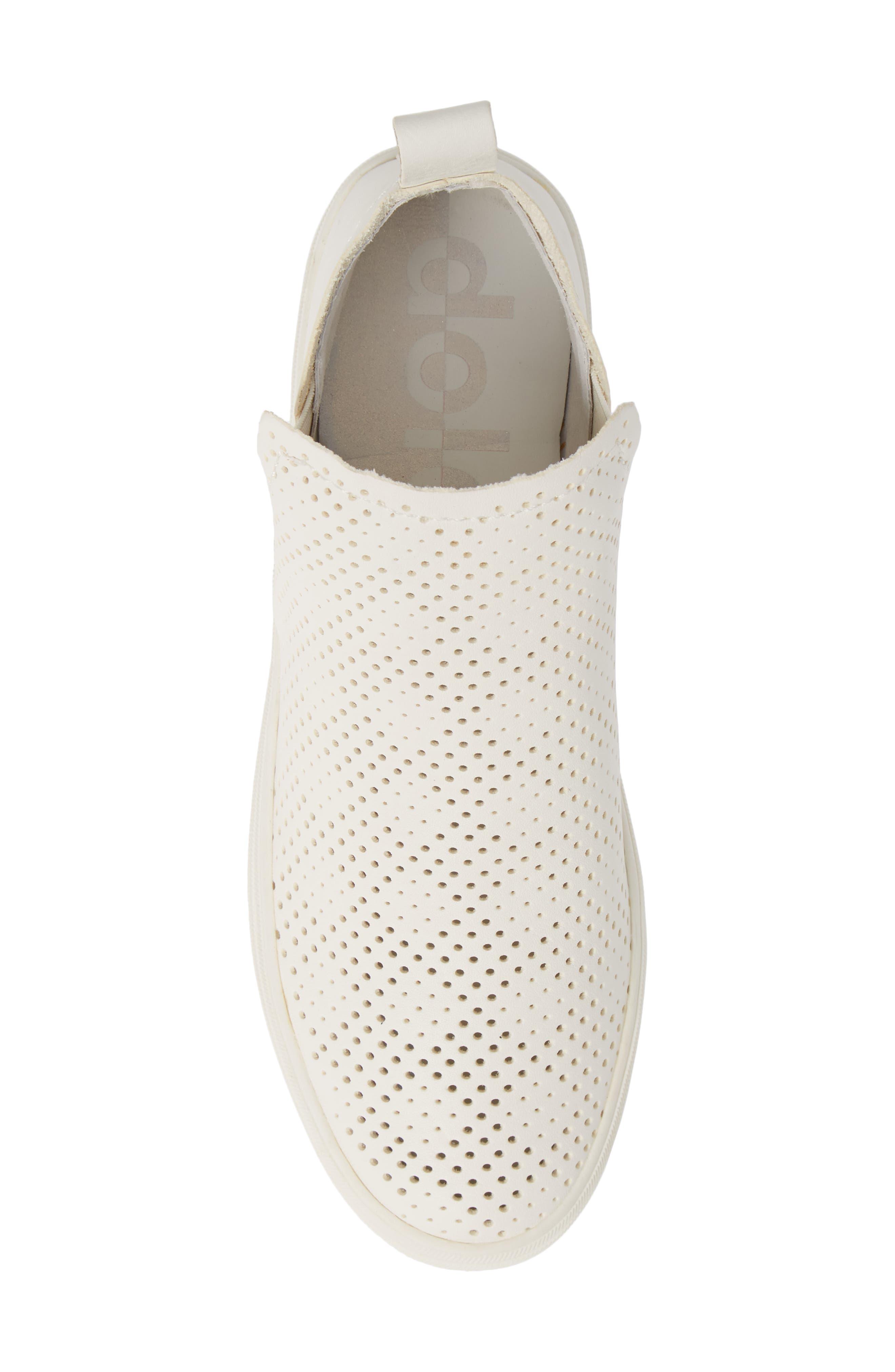 Tate Sneaker,                             Alternate thumbnail 5, color,                             WHITE