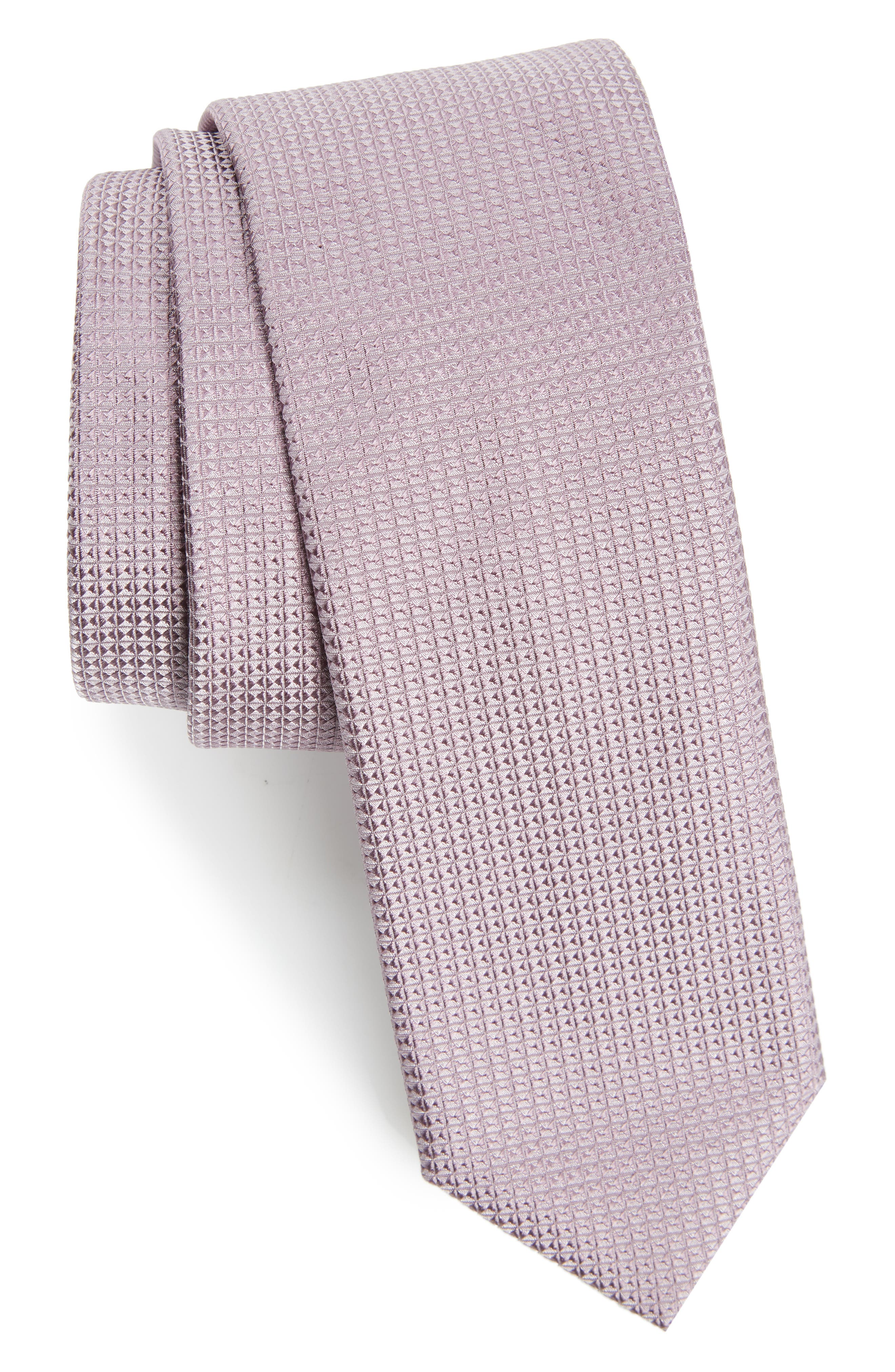 Solid Silk Skinny Tie,                         Main,                         color,