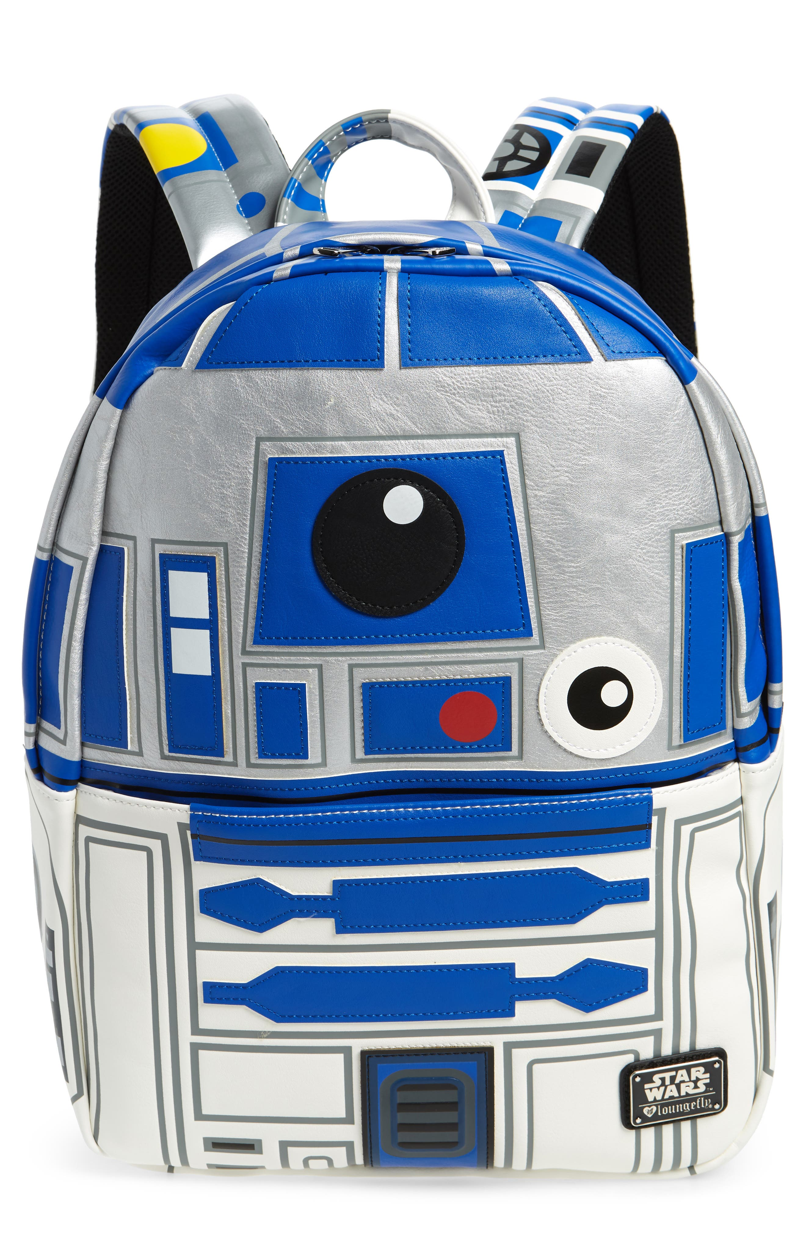 x Star Wars R2-D2 Faux Leather Backpack,                             Main thumbnail 1, color,                             040