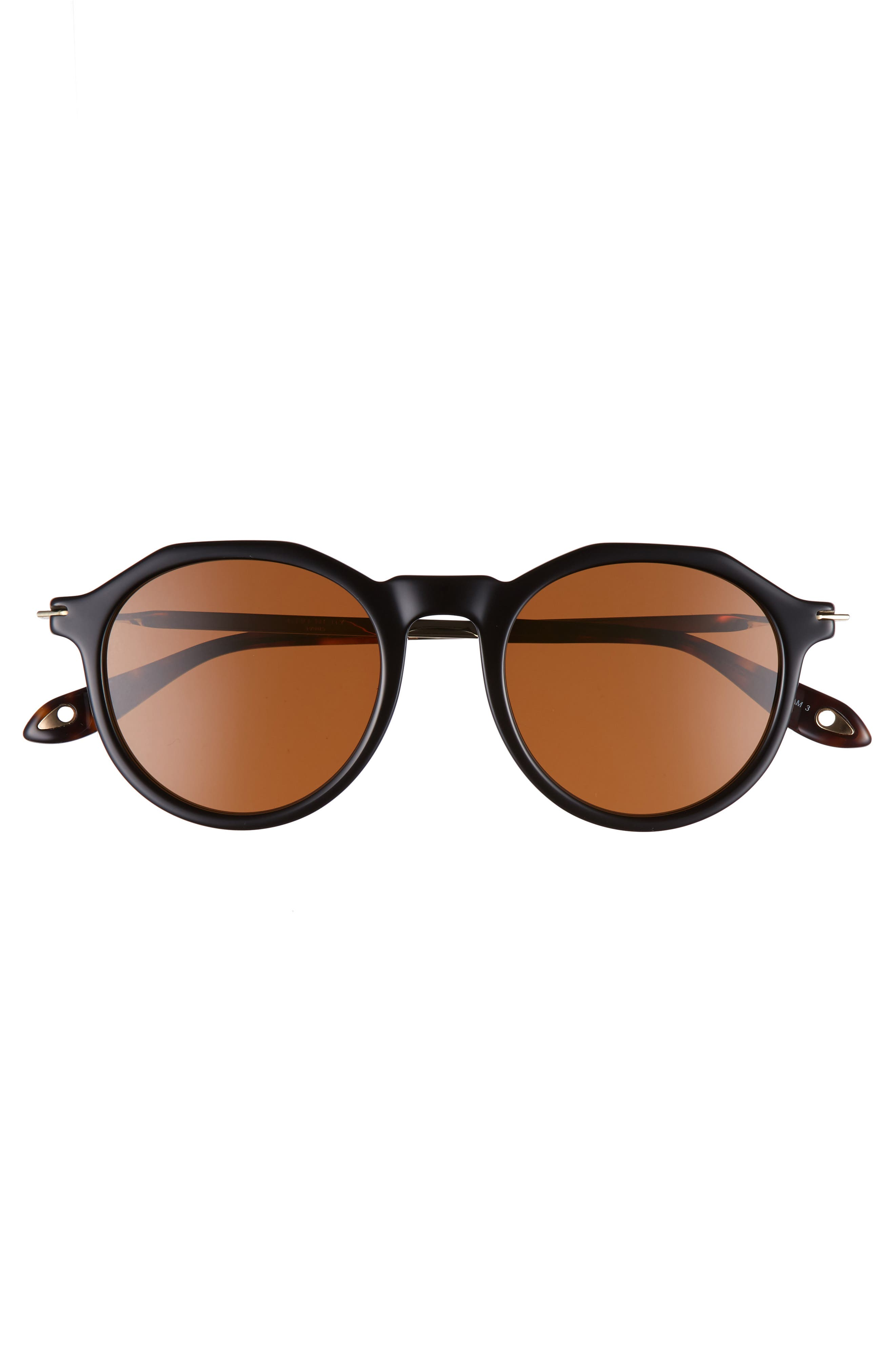 51mm Round Sunglasses,                             Alternate thumbnail 7, color,