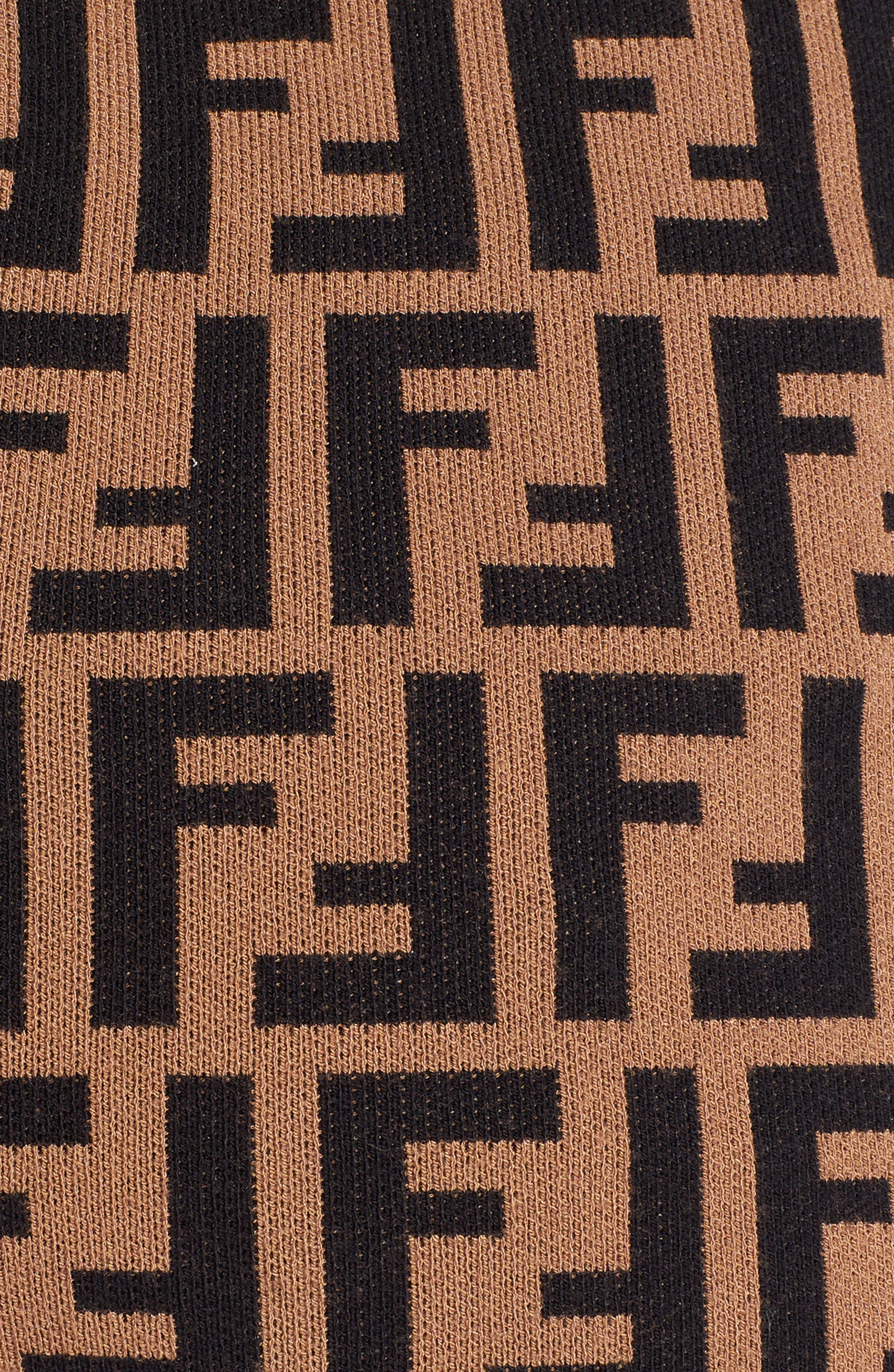 FENDI,                             Logo Leggings,                             Alternate thumbnail 5, color,                             201