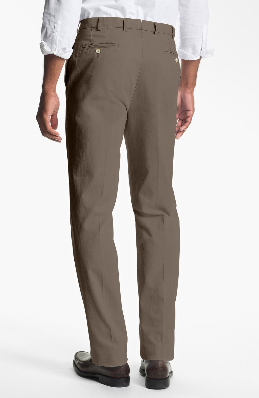 Garment Washed Twill Pants,                             Alternate thumbnail 24, color,
