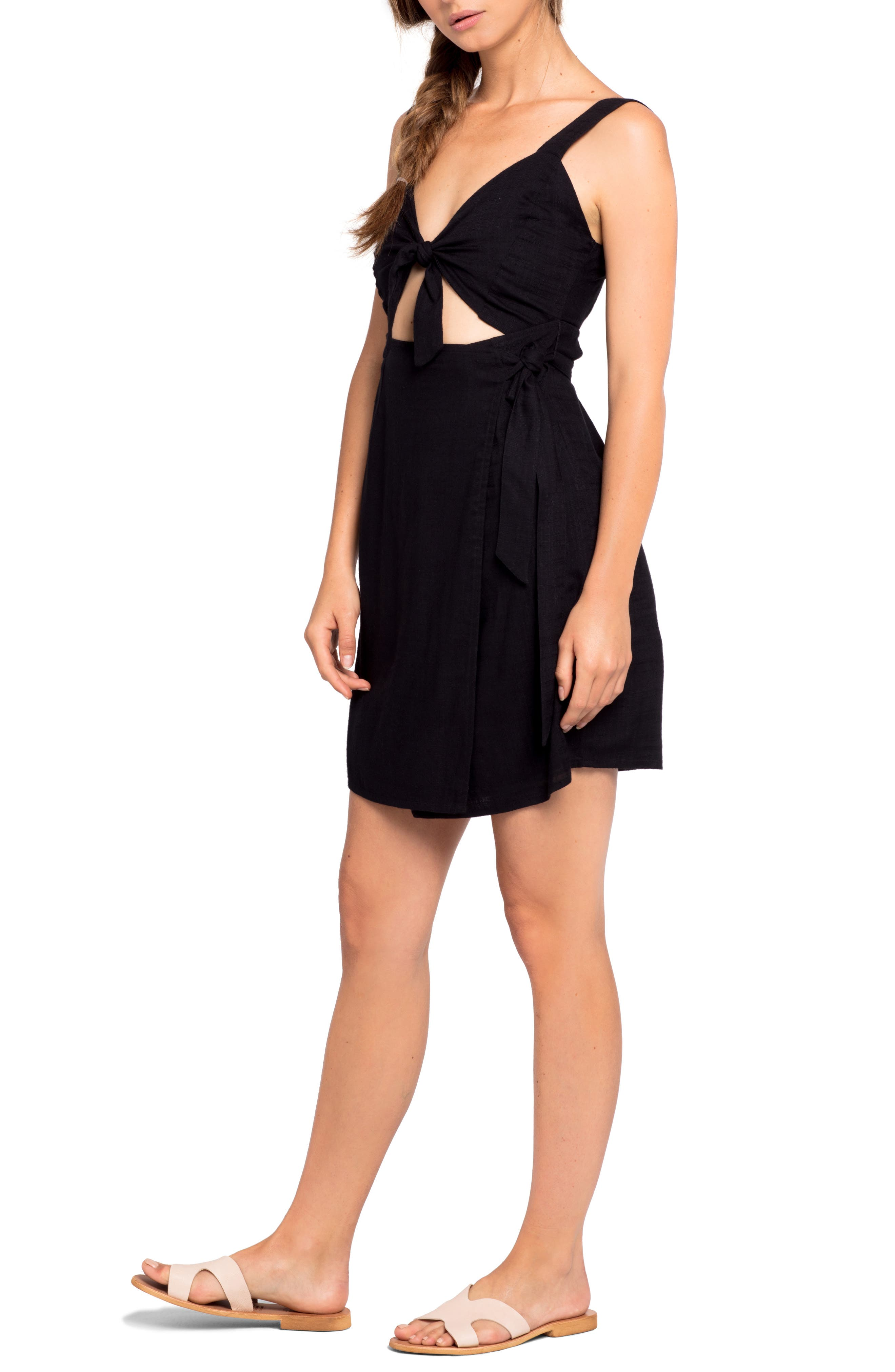 Morning Star Cover-Up Dress,                         Main,                         color, 001
