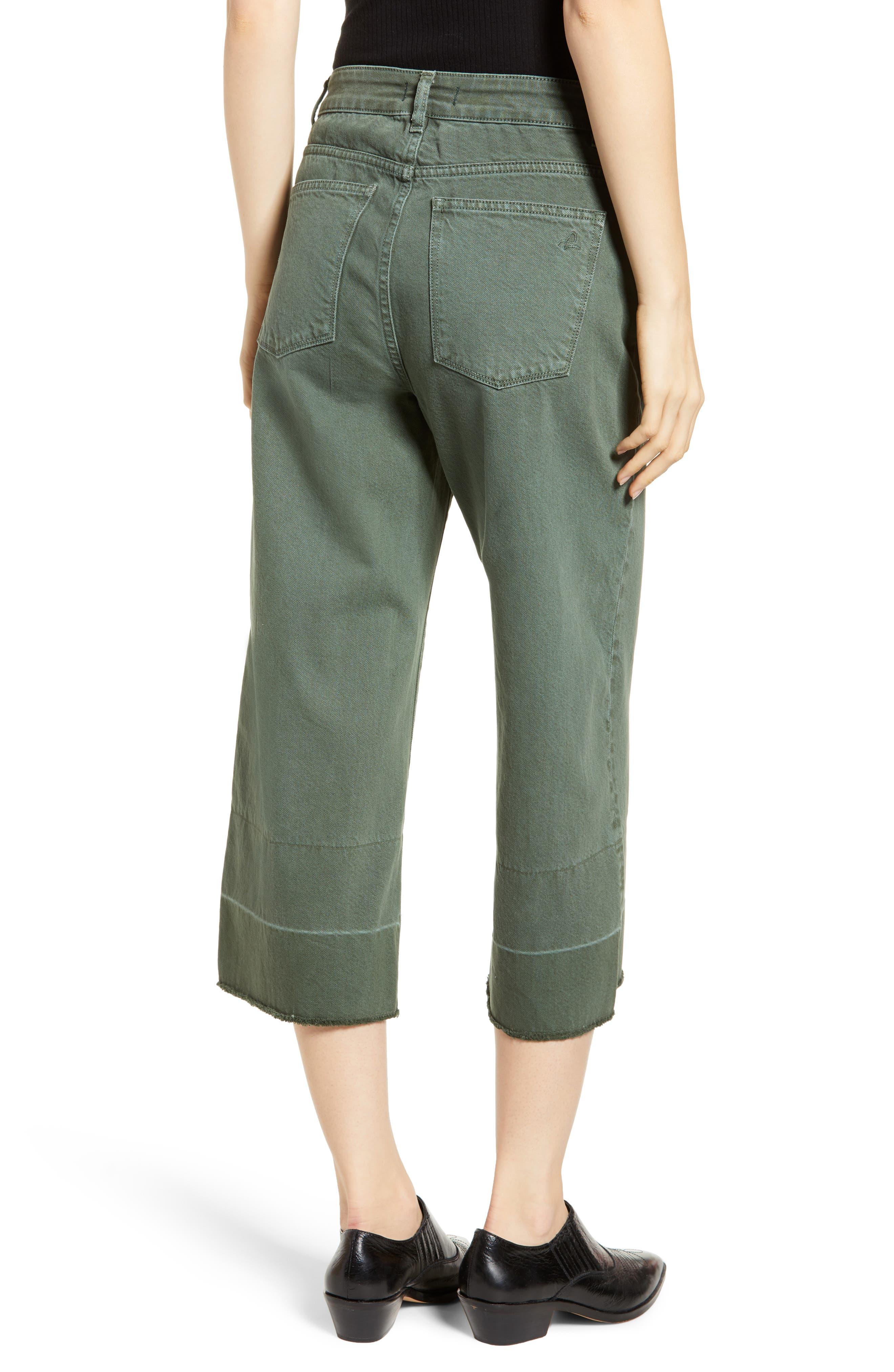 DL1961,                             Hepburn High Waist Crop Wide Leg Jeans,                             Alternate thumbnail 2, color,                             AMALFI