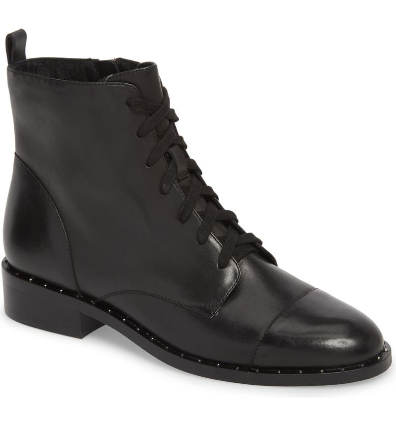 Layla Boot,                        Main,                         color, BLACK LEATHER