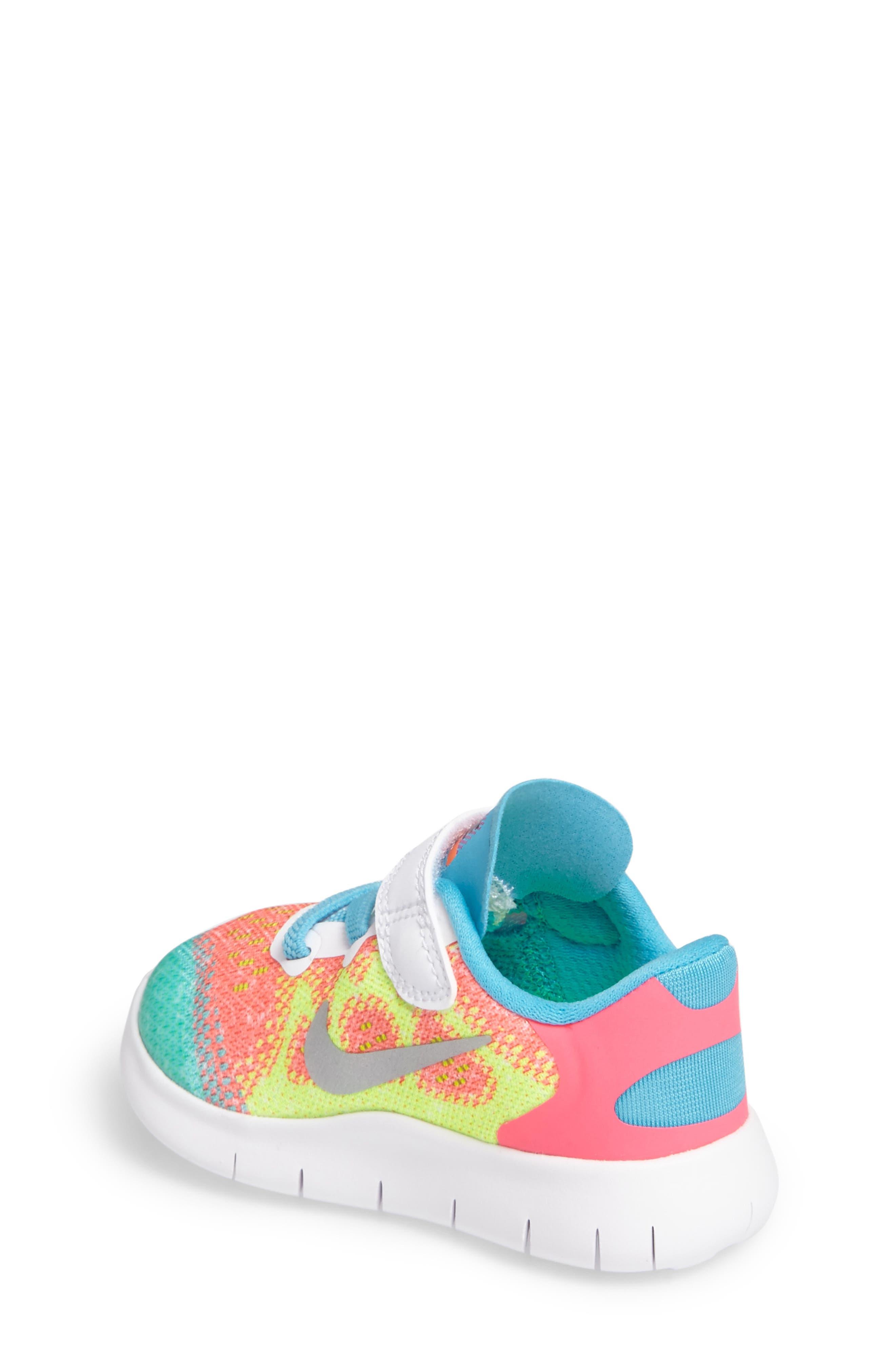 Free Run 2017 Sneaker,                             Alternate thumbnail 7, color,