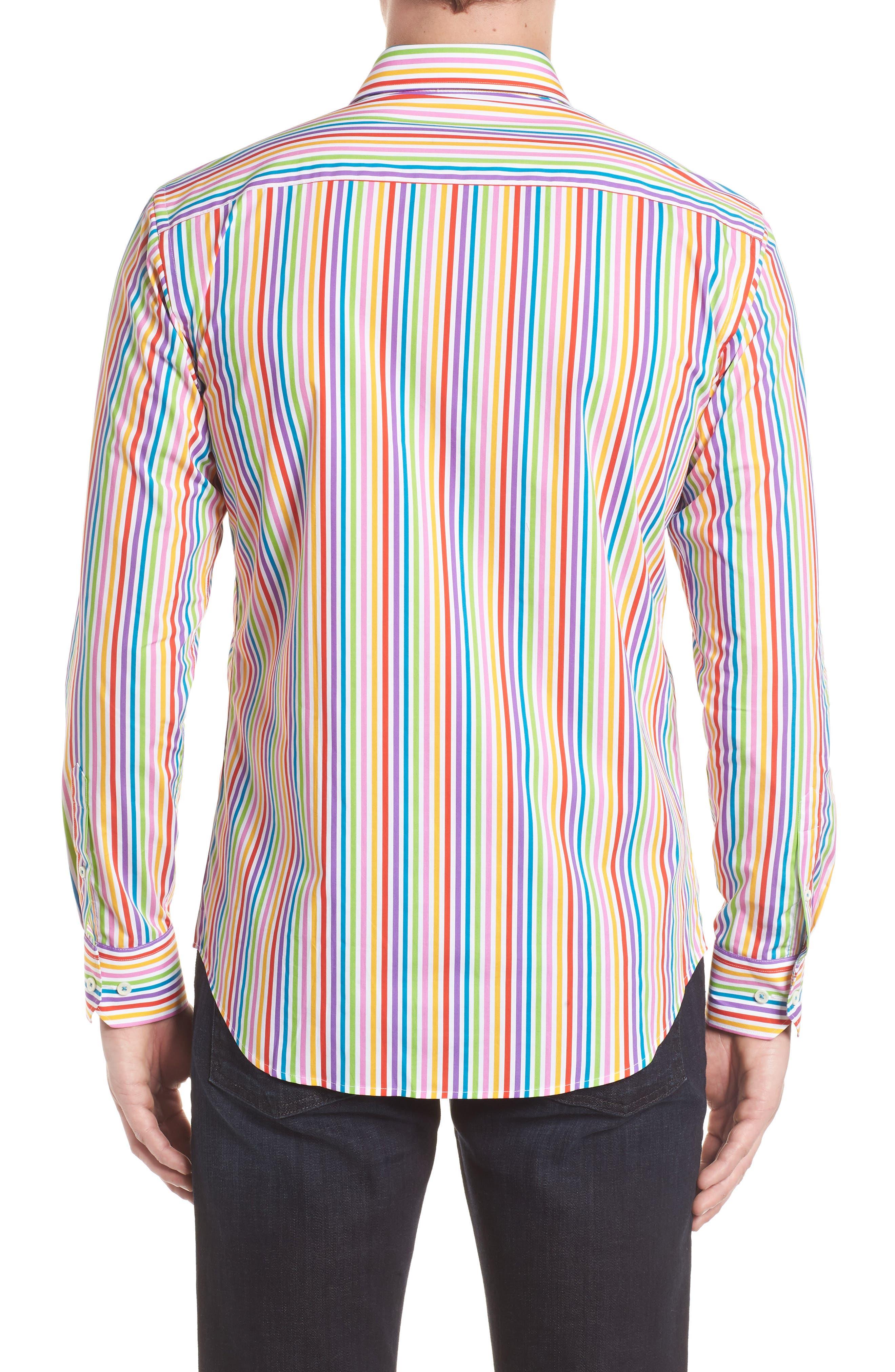 BUGATCHI,                             Classic Fit Woven Sport Shirt,                             Alternate thumbnail 2, color,                             601