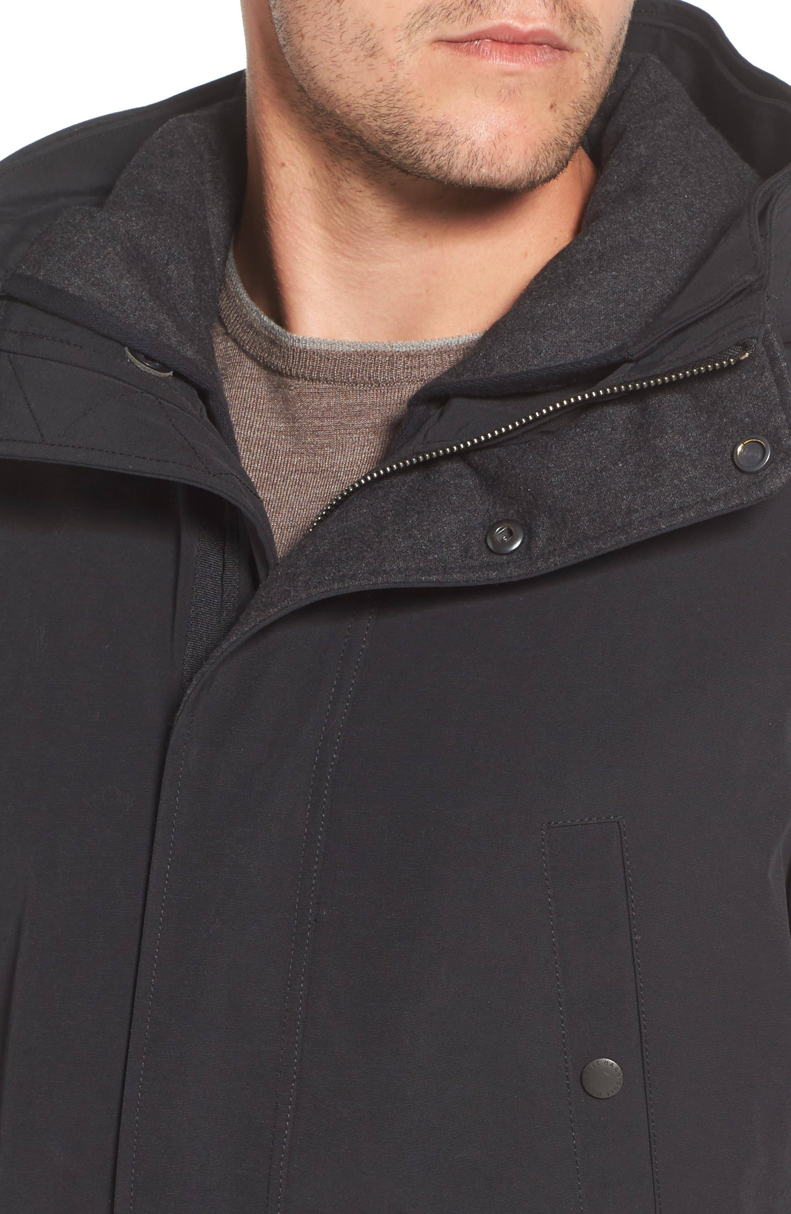 Water Repellent 3-in-1 Utility Jacket,                             Alternate thumbnail 4, color,                             001