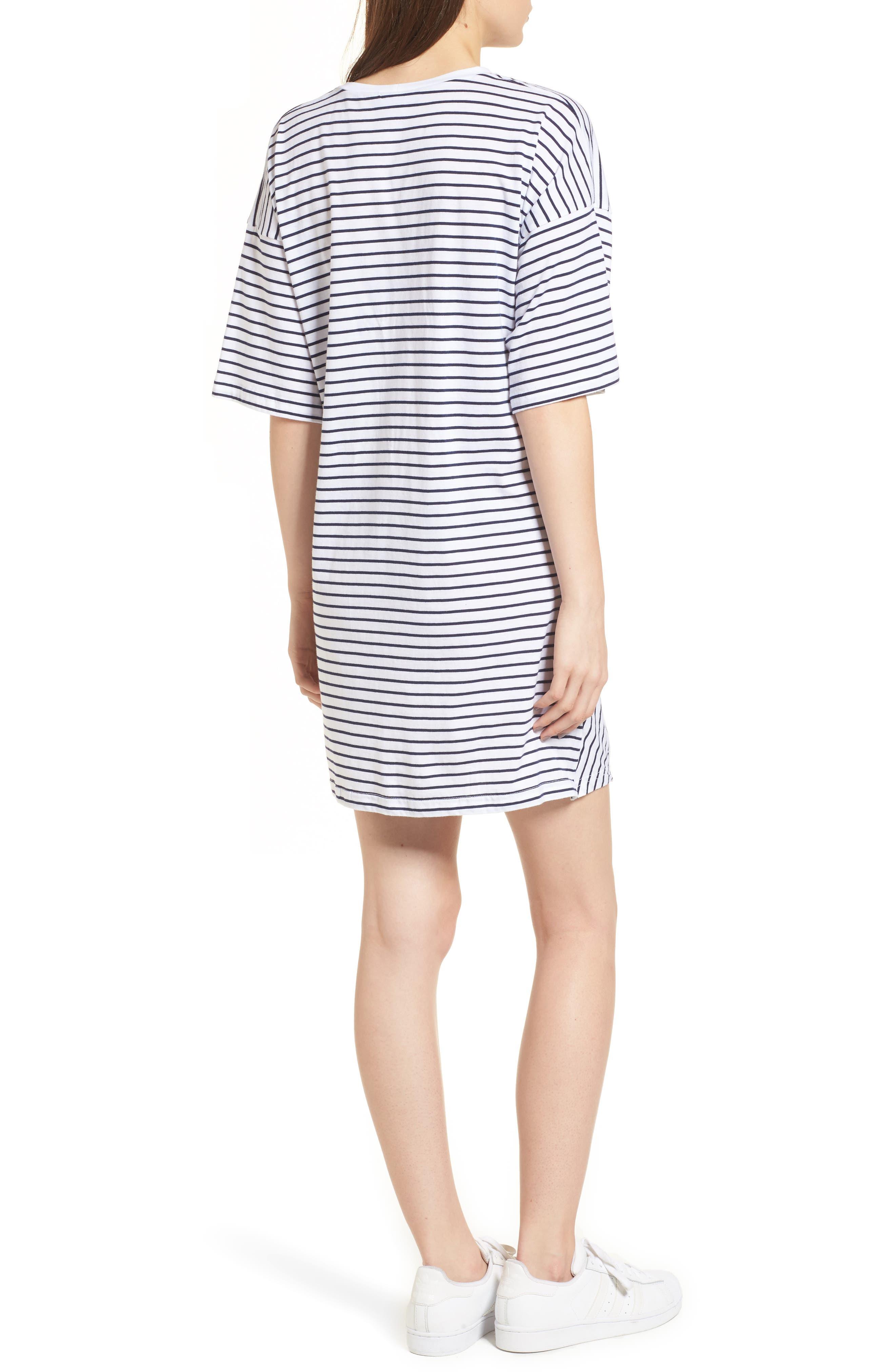 Recharge Knot Hem T-Shirt Dress,                             Alternate thumbnail 2, color,                             400