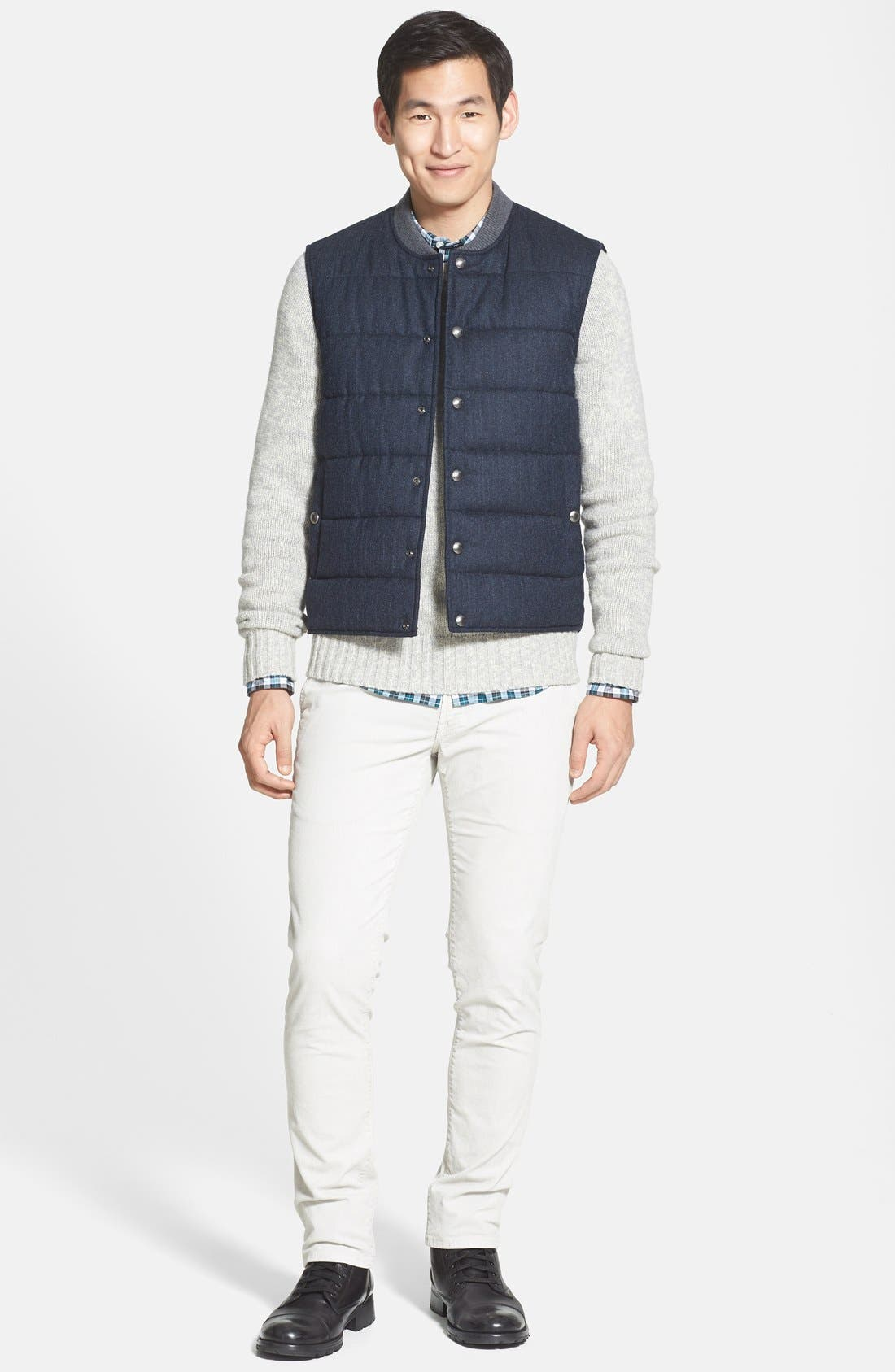 Quilted Vest,                             Alternate thumbnail 4, color,                             409