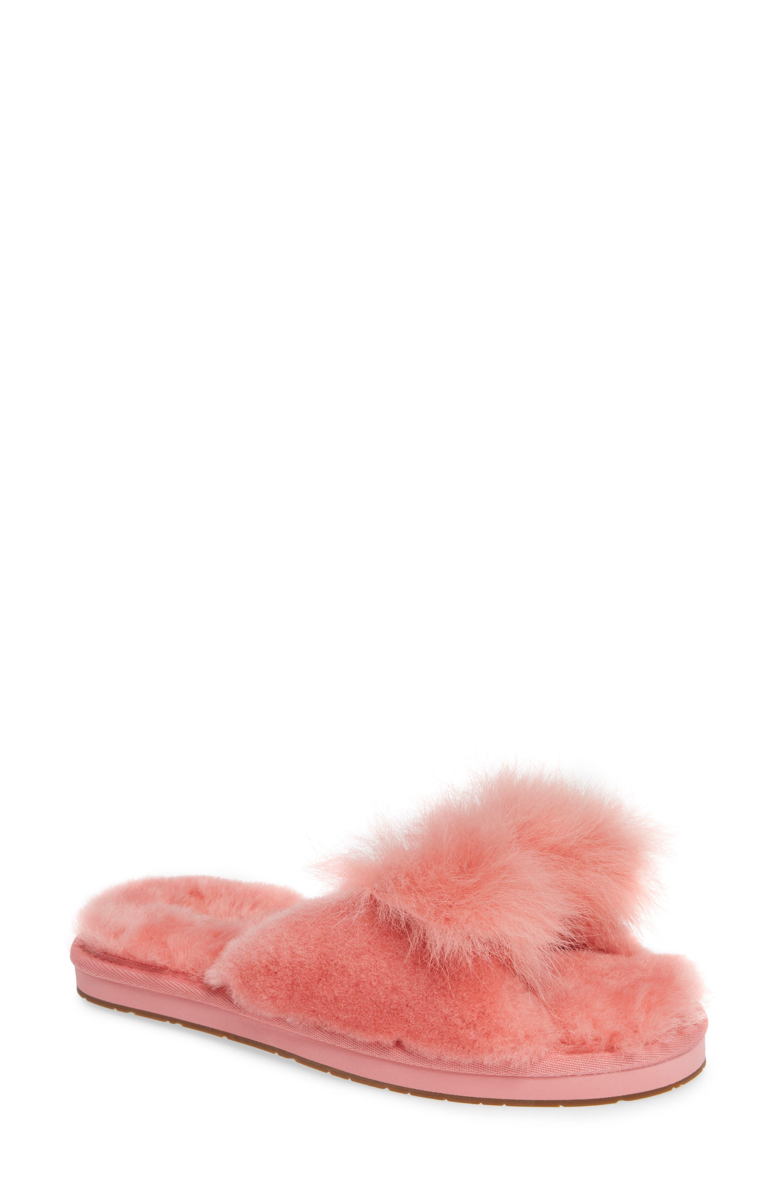 Ugg Mirabelle Genuine Shearling Slipper, Pink