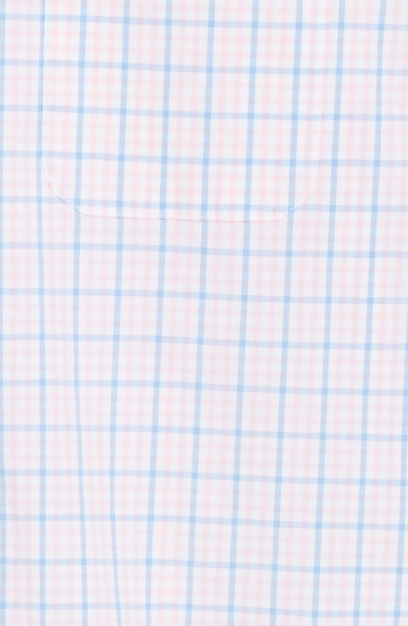 Murray Classic Fit Check Sport Shirt,                             Alternate thumbnail 6, color,                             FLAMINGO