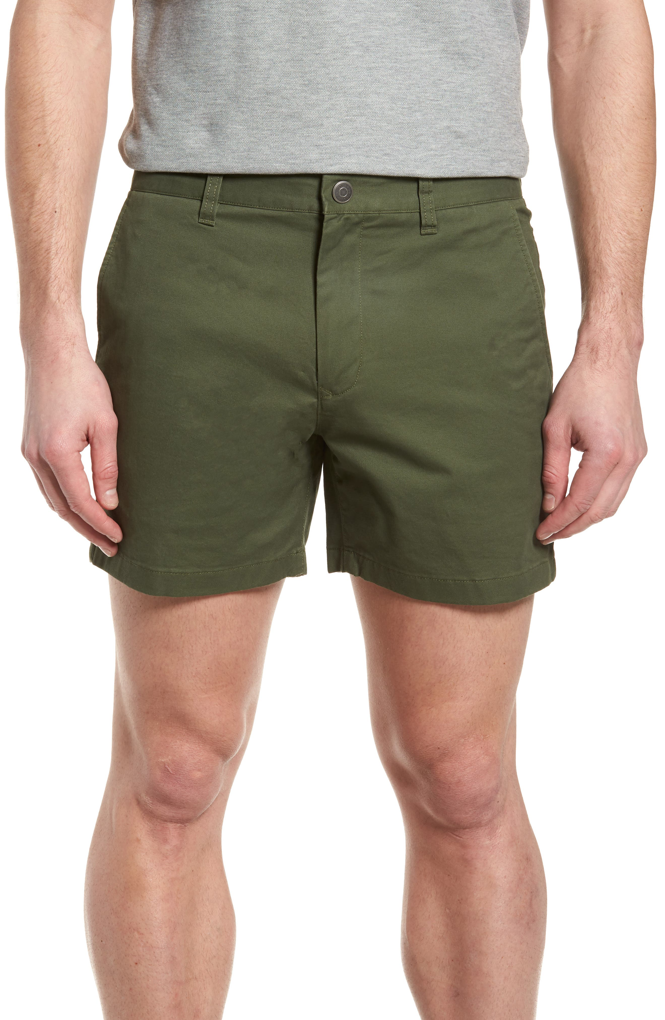 Stretch Washed Chino 5-Inch Shorts,                             Main thumbnail 5, color,