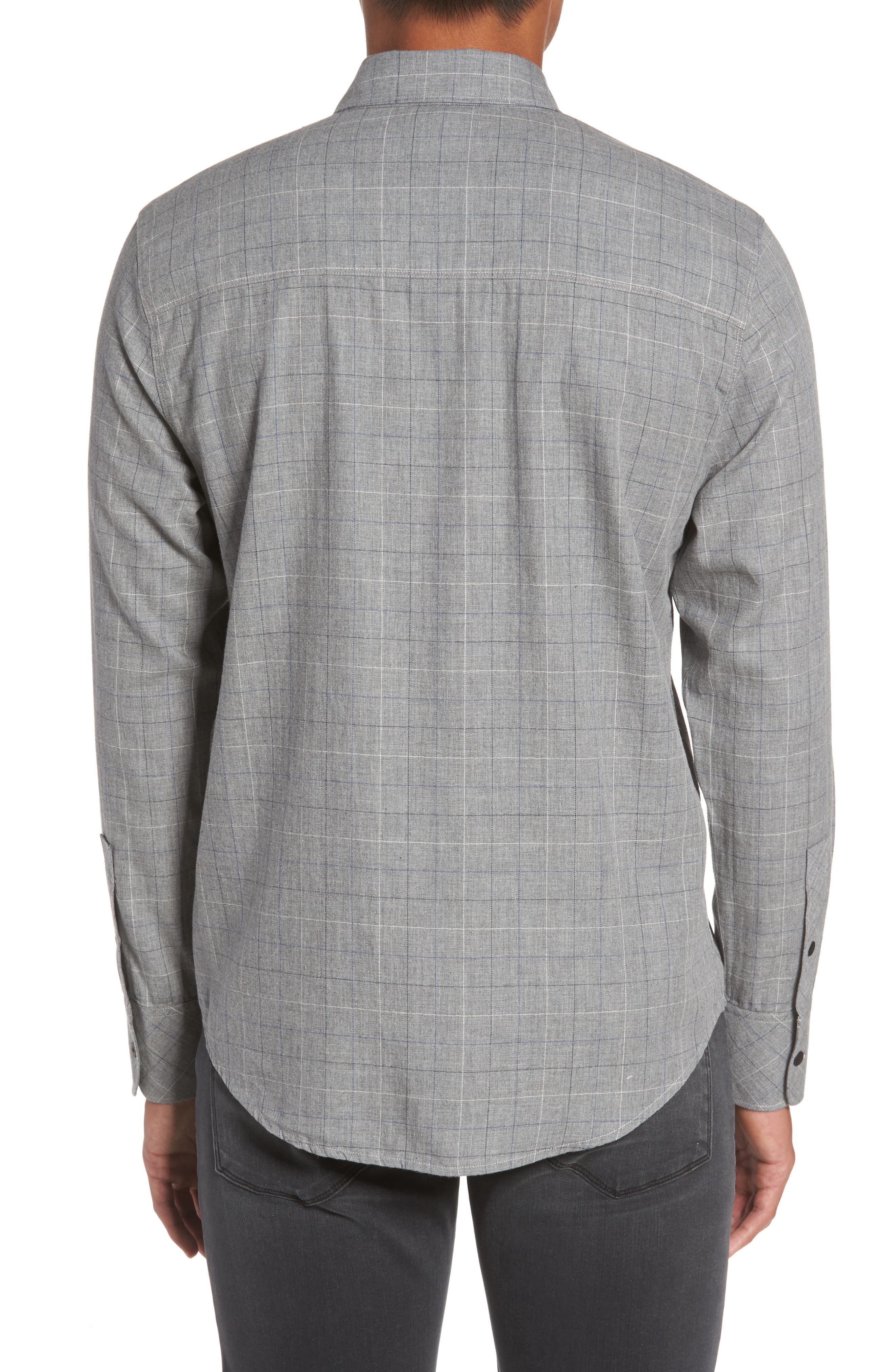 Everett Tattersall Sport Shirt,                             Alternate thumbnail 2, color,                             020