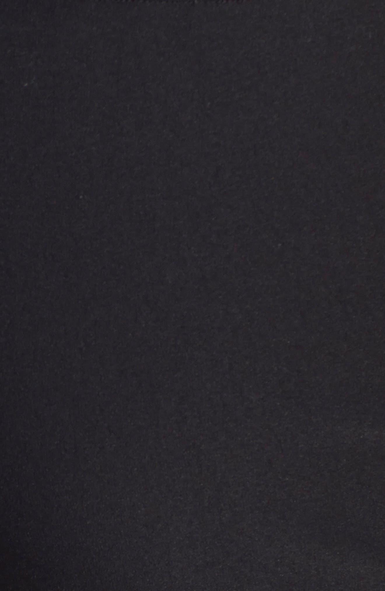'Wonder Stretch' High Rise Straight Leg Pants,                             Alternate thumbnail 6, color,                             BLACK ONYX