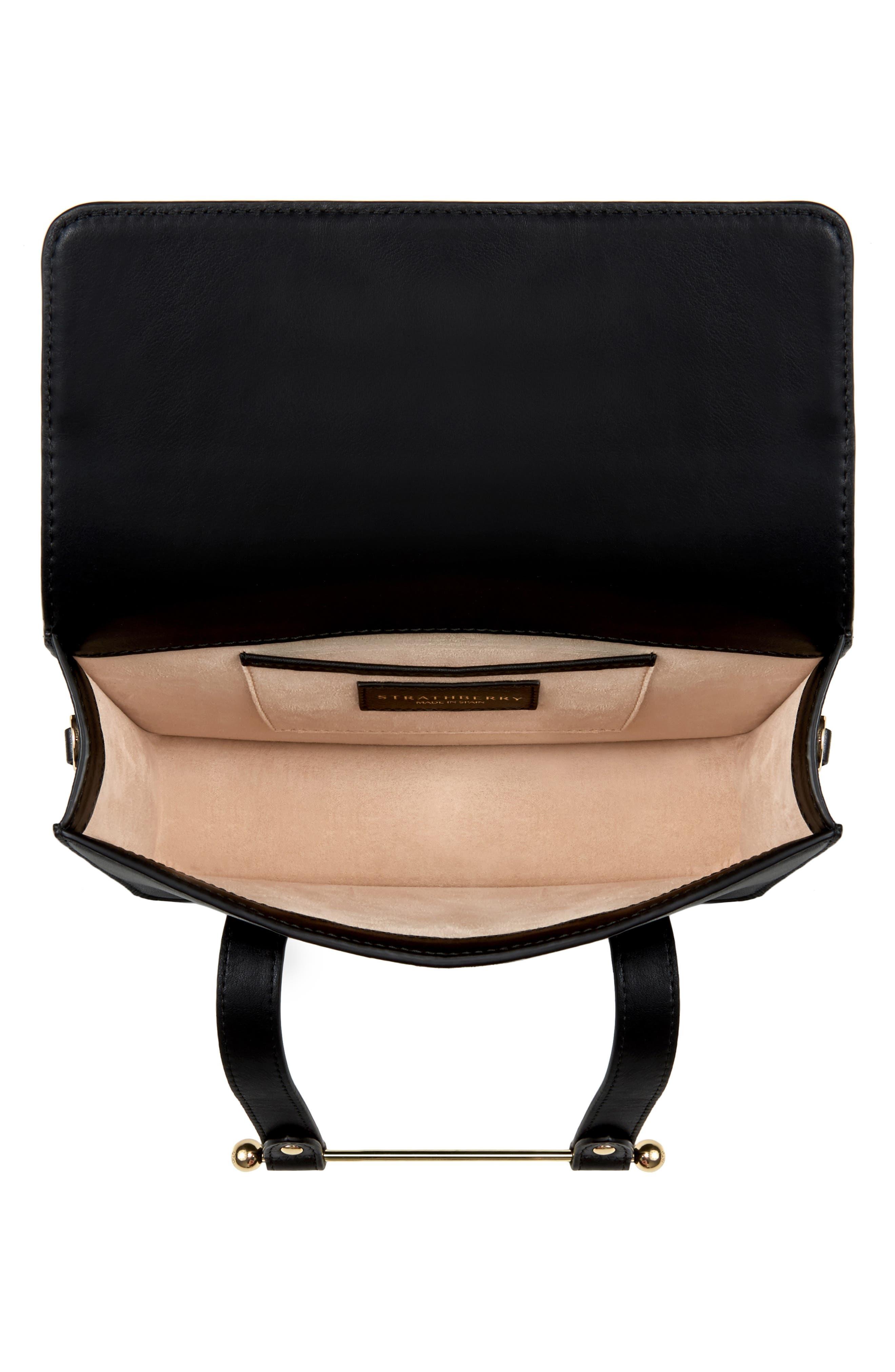 MC Mini Leather Crossbody Bag,                             Alternate thumbnail 5, color,