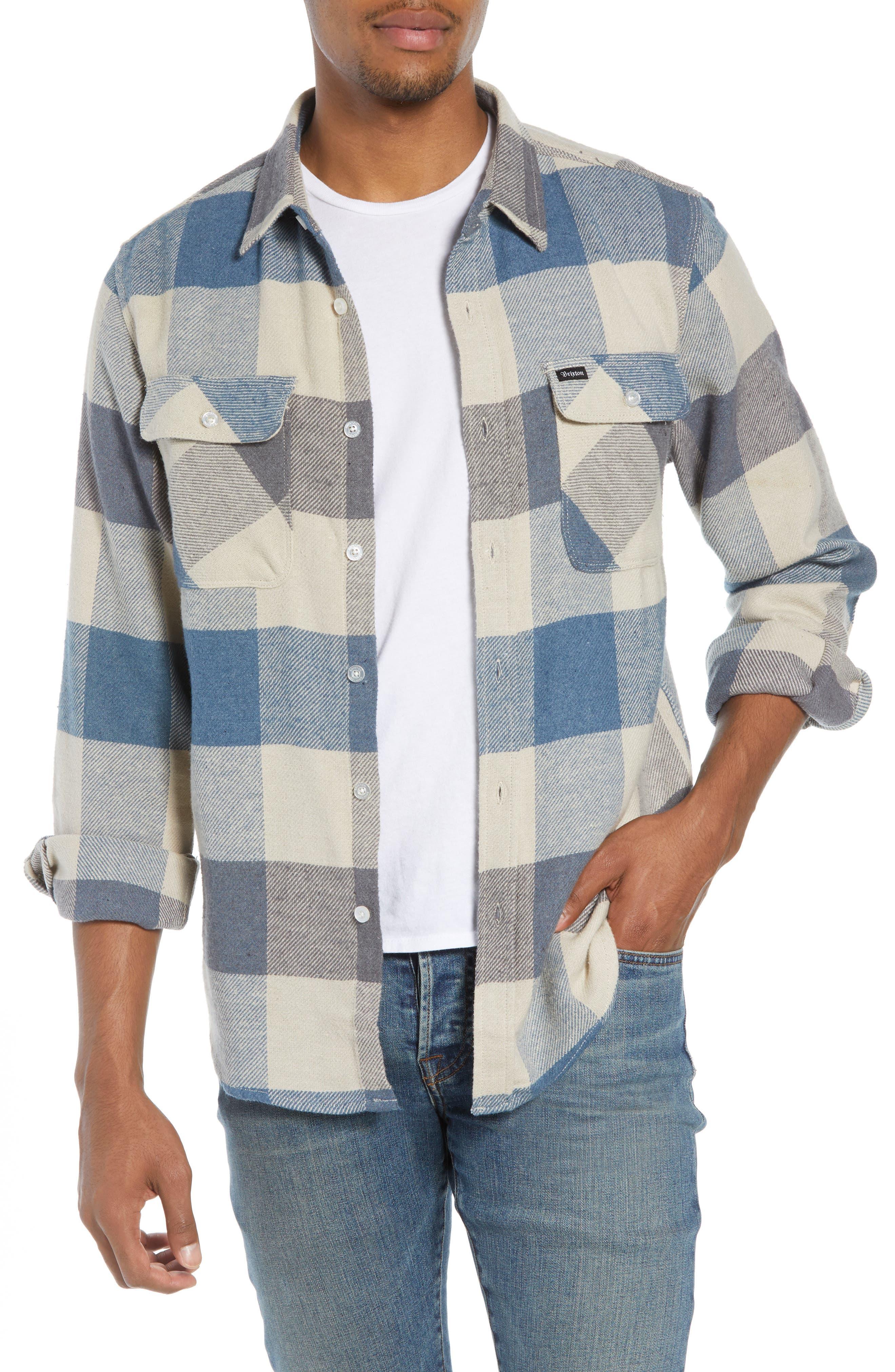 Bowery Flannel Shirt,                             Main thumbnail 15, color,