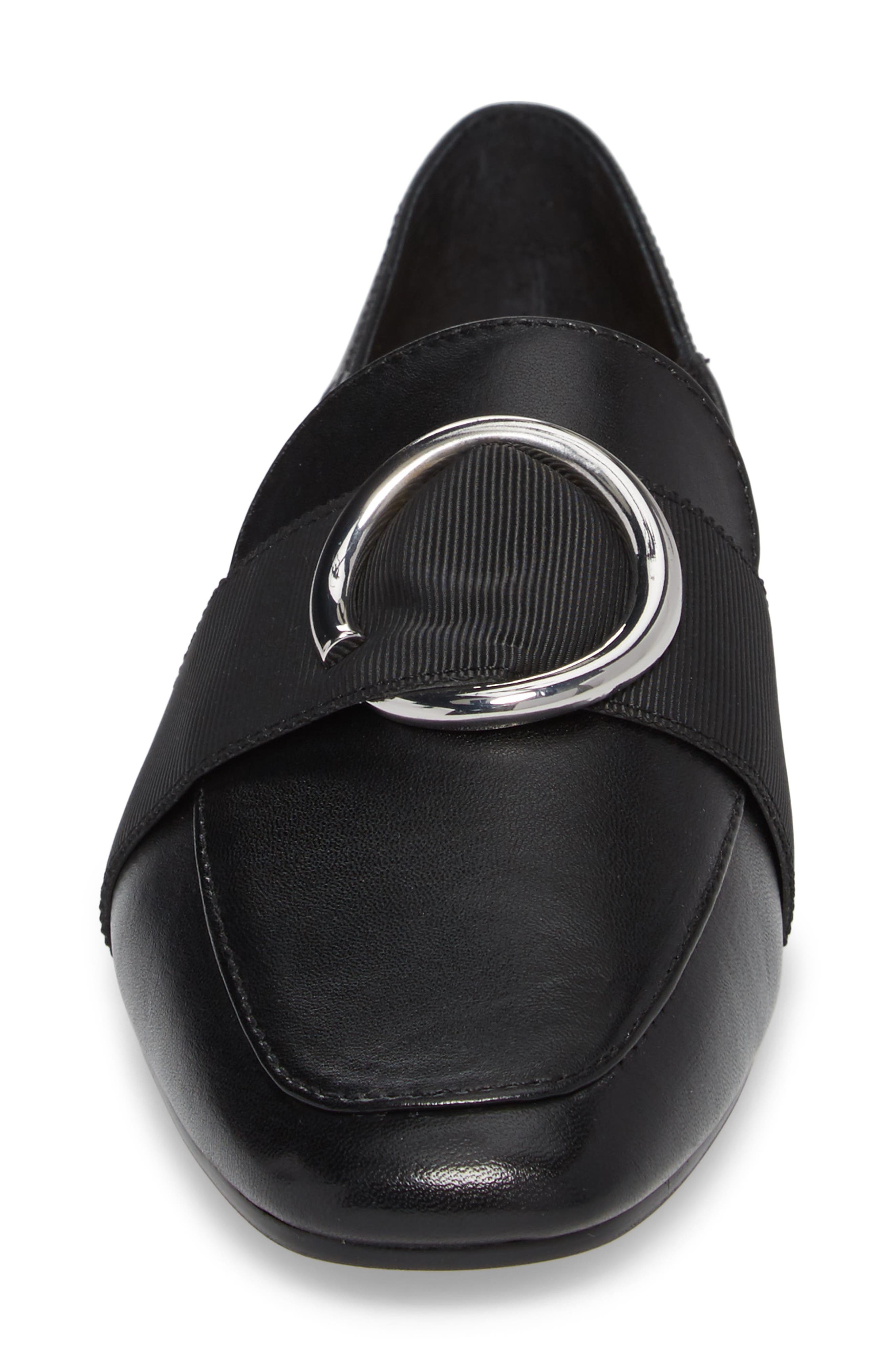 Ilani Convertible Slip Ring Loafer,                             Alternate thumbnail 4, color,                             001