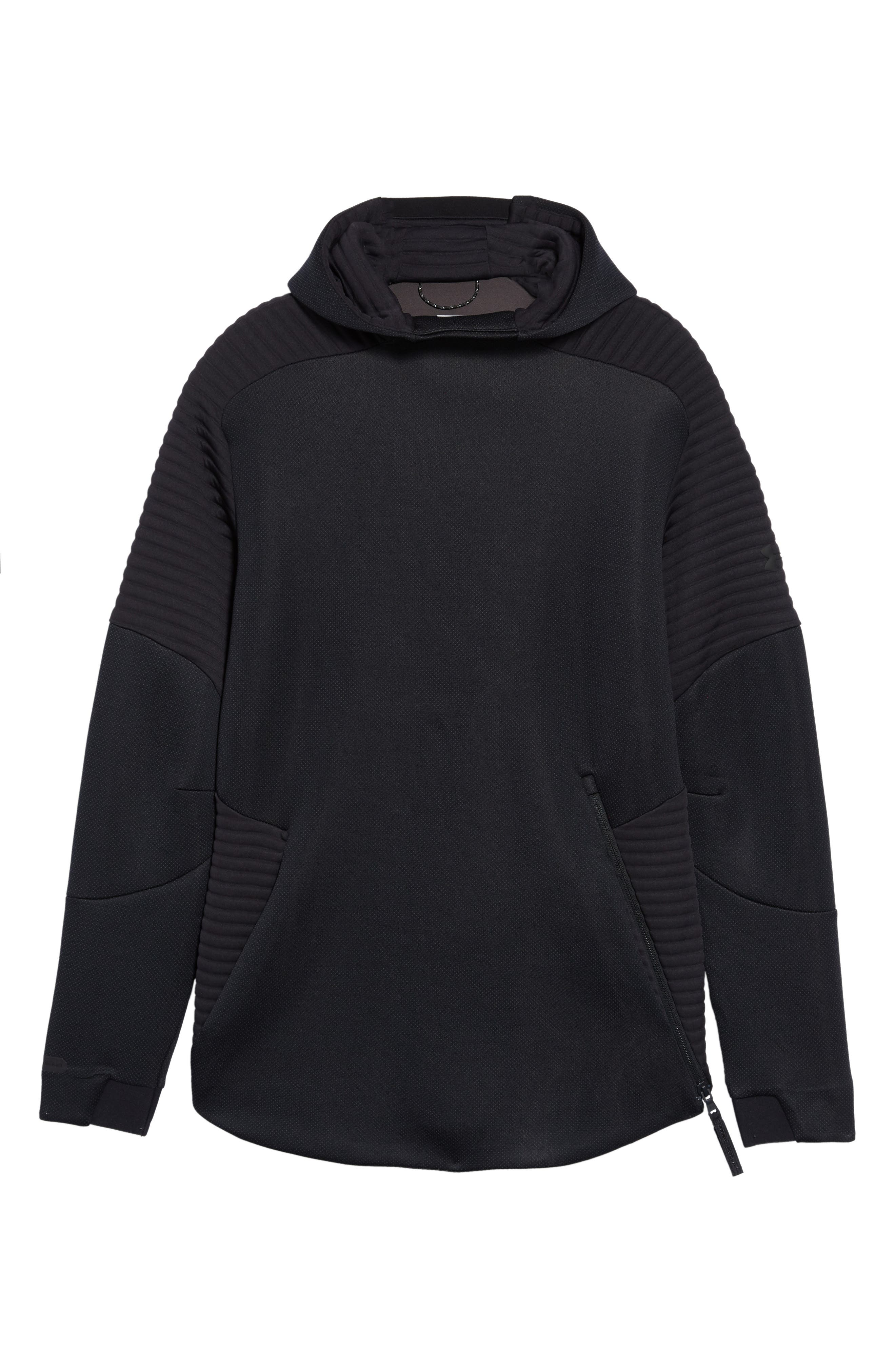 Unstoppable /MOVE Hoodie,                             Alternate thumbnail 6, color,                             BLACK/ CHARCOAL/ BLACK