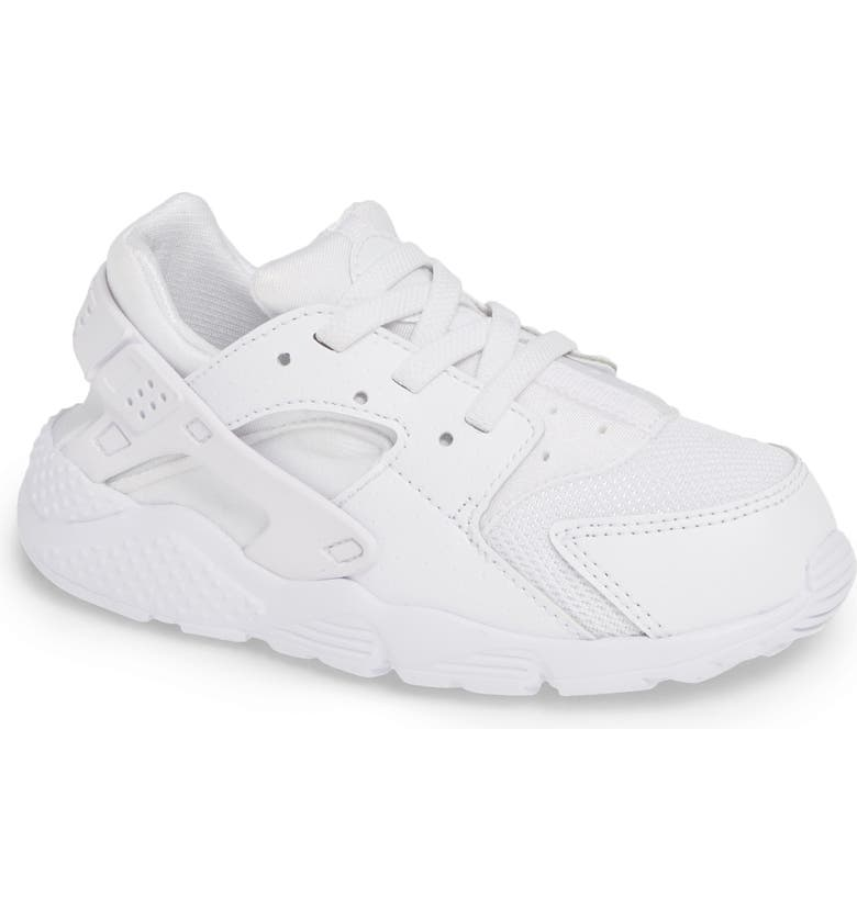 reputable site 01649 04f9a NIKE Huarache Run Sneaker, Main, color, WHITE PURE PLATINUM