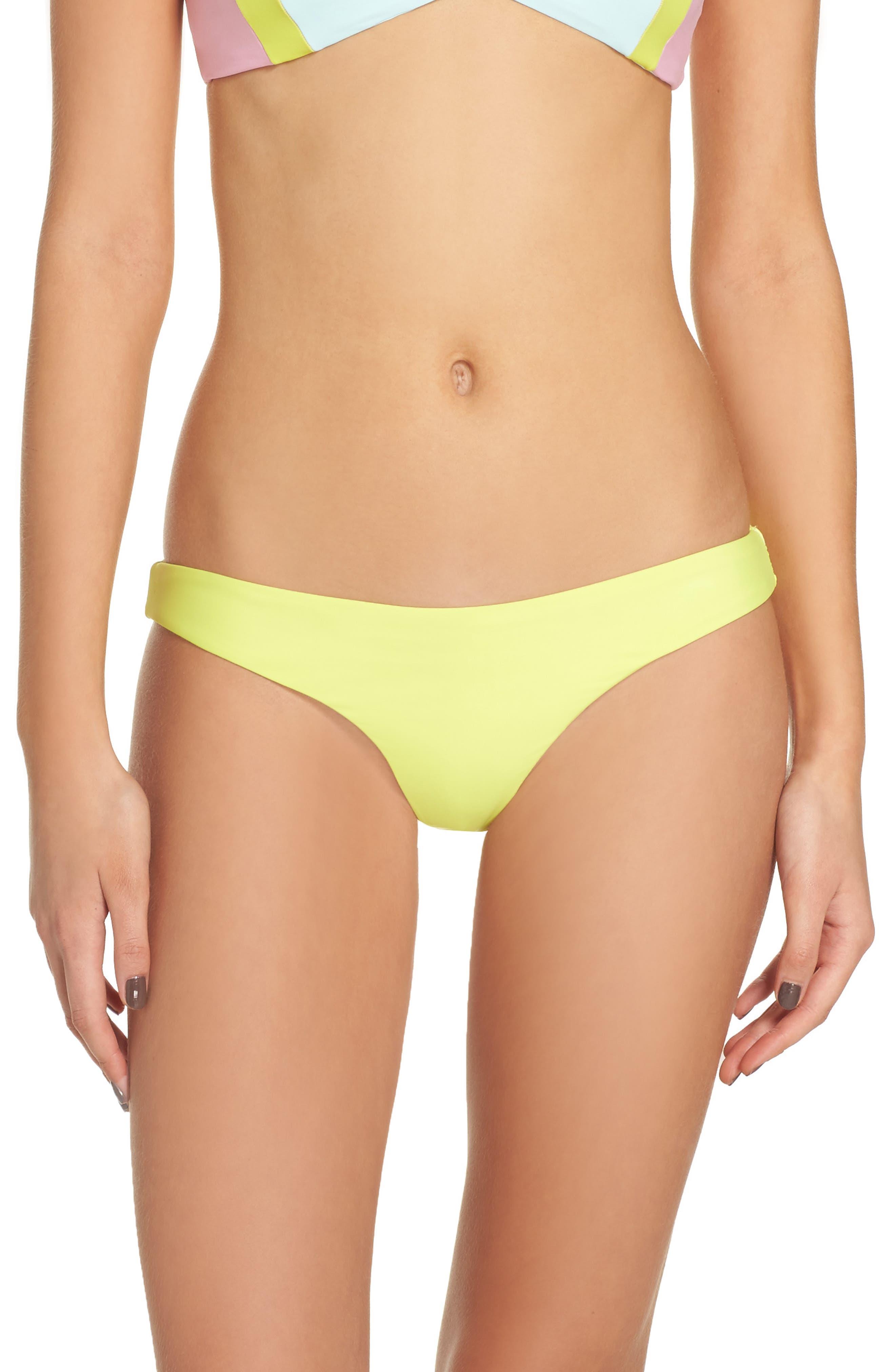 Ruched Bikini Bottoms,                         Main,                         color, 700