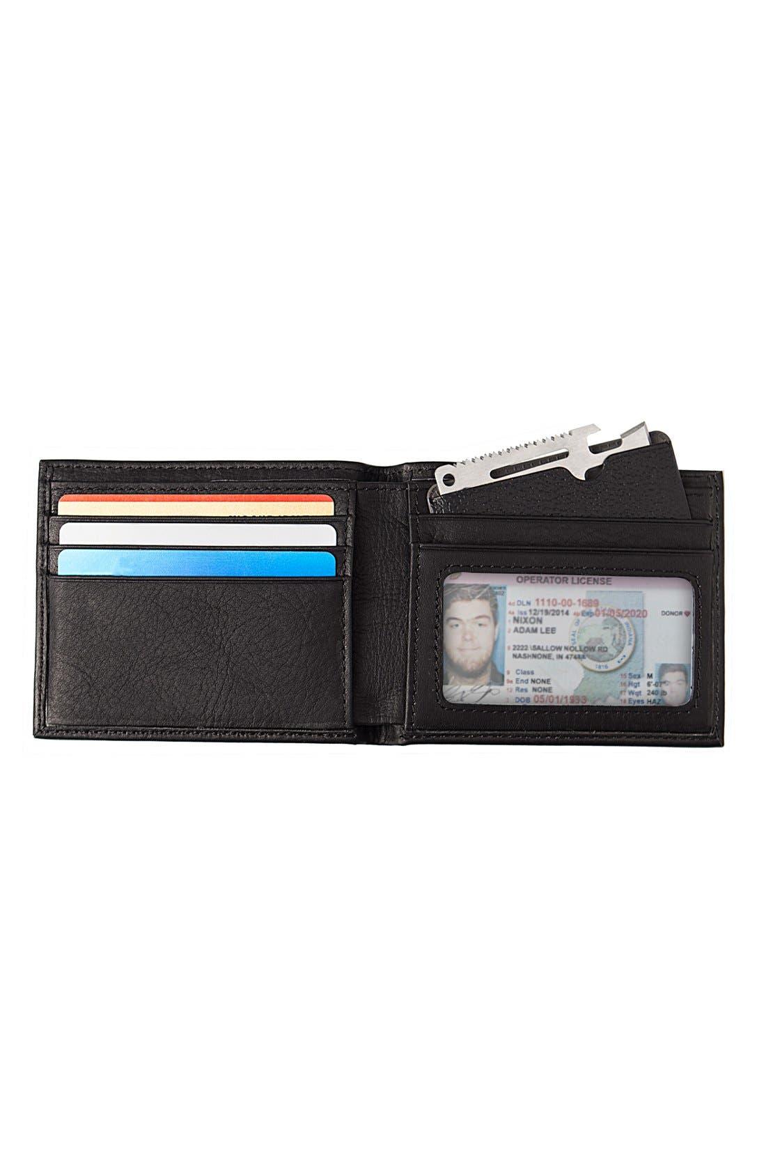 Monogram Bifold Wallet,                             Alternate thumbnail 2, color,                             002