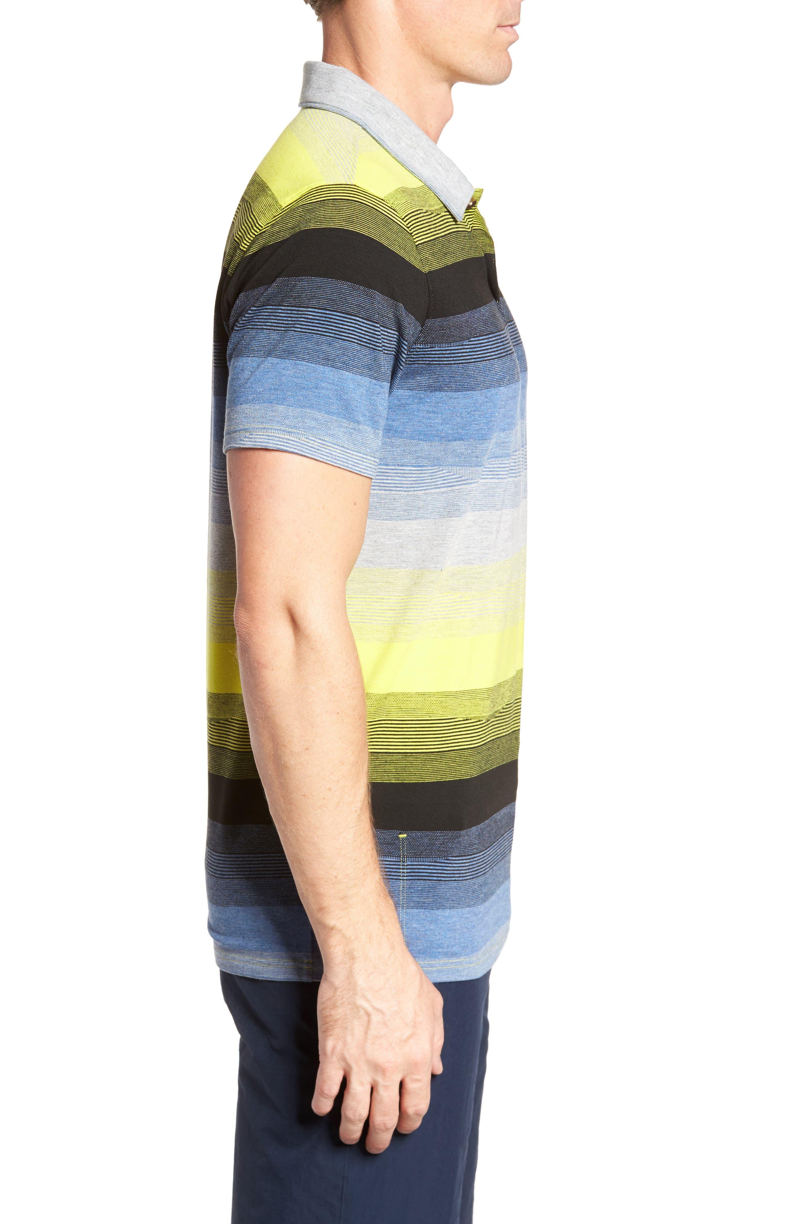 Lateral Polo Shirt,                             Alternate thumbnail 6, color,