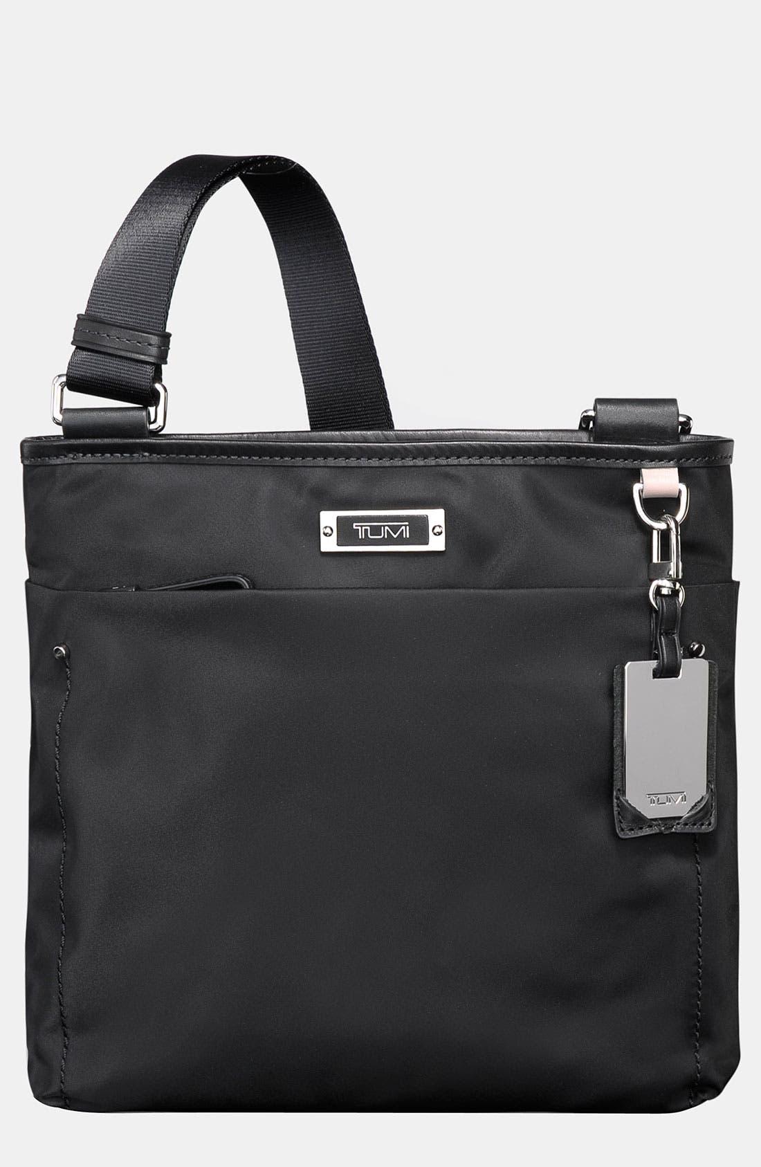 TUMI 'Voyageur - Capri' Crossbody Bag, Main, color, 001