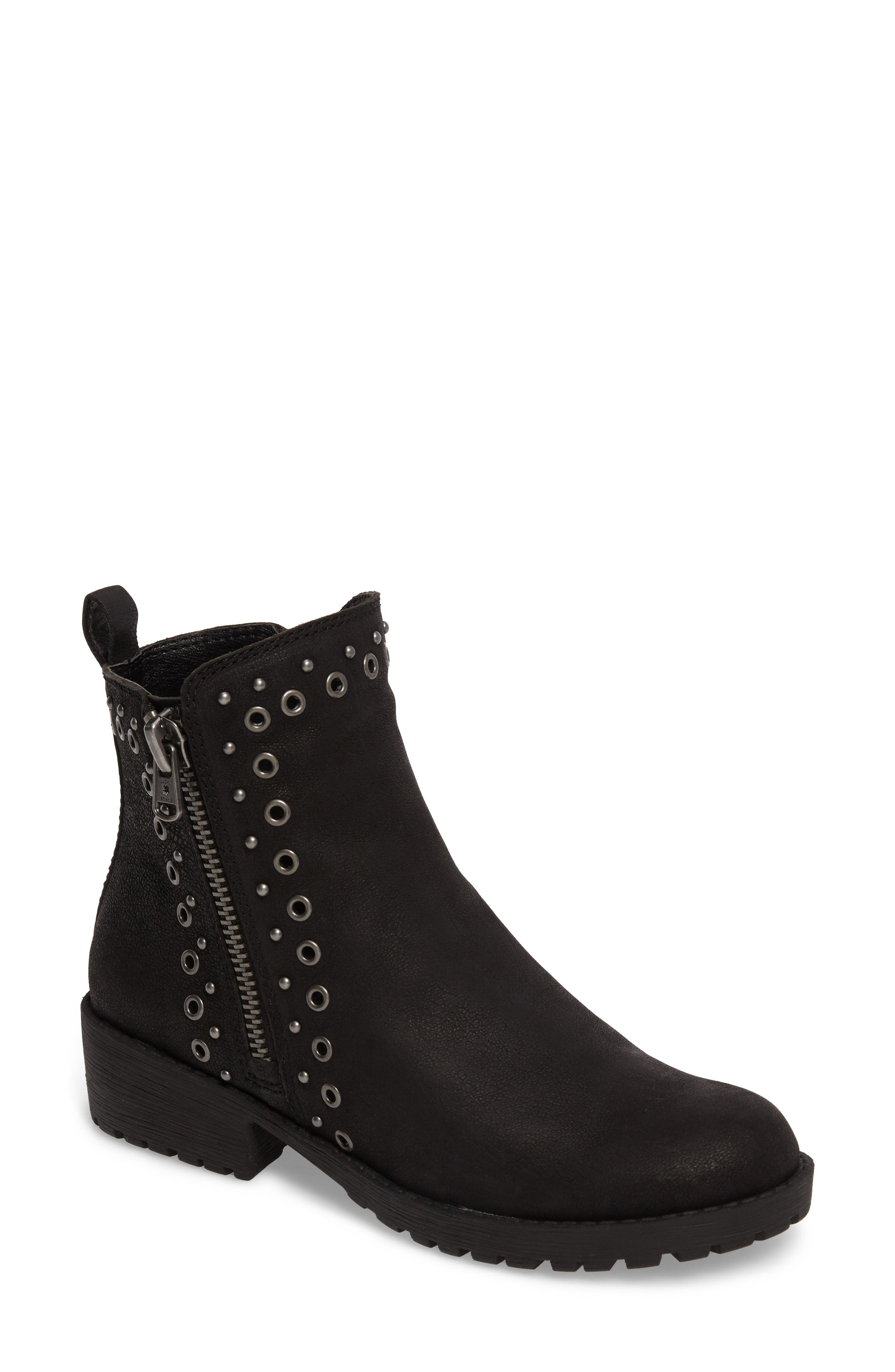 Hannie Embellished Bootie,                             Main thumbnail 1, color,                             001