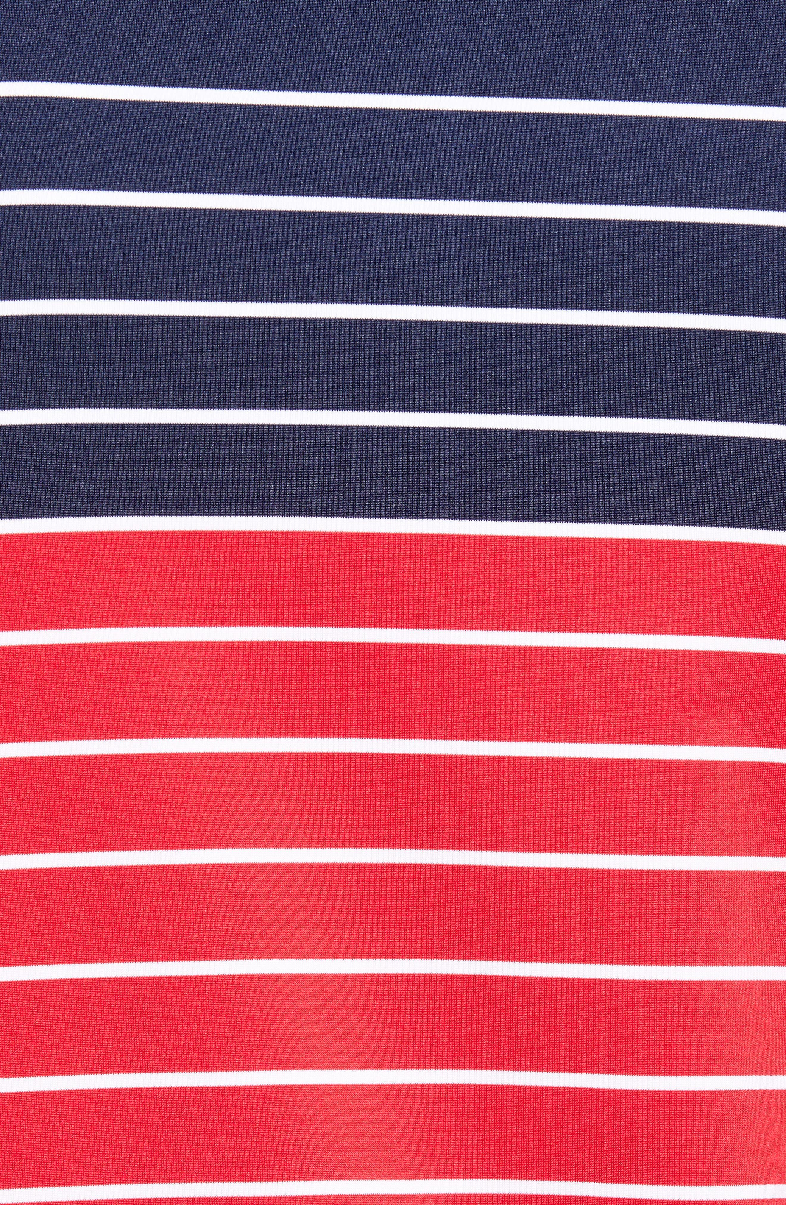 Regular Fit Engineer Stripe Sankaty Performance Polo,                             Alternate thumbnail 14, color,