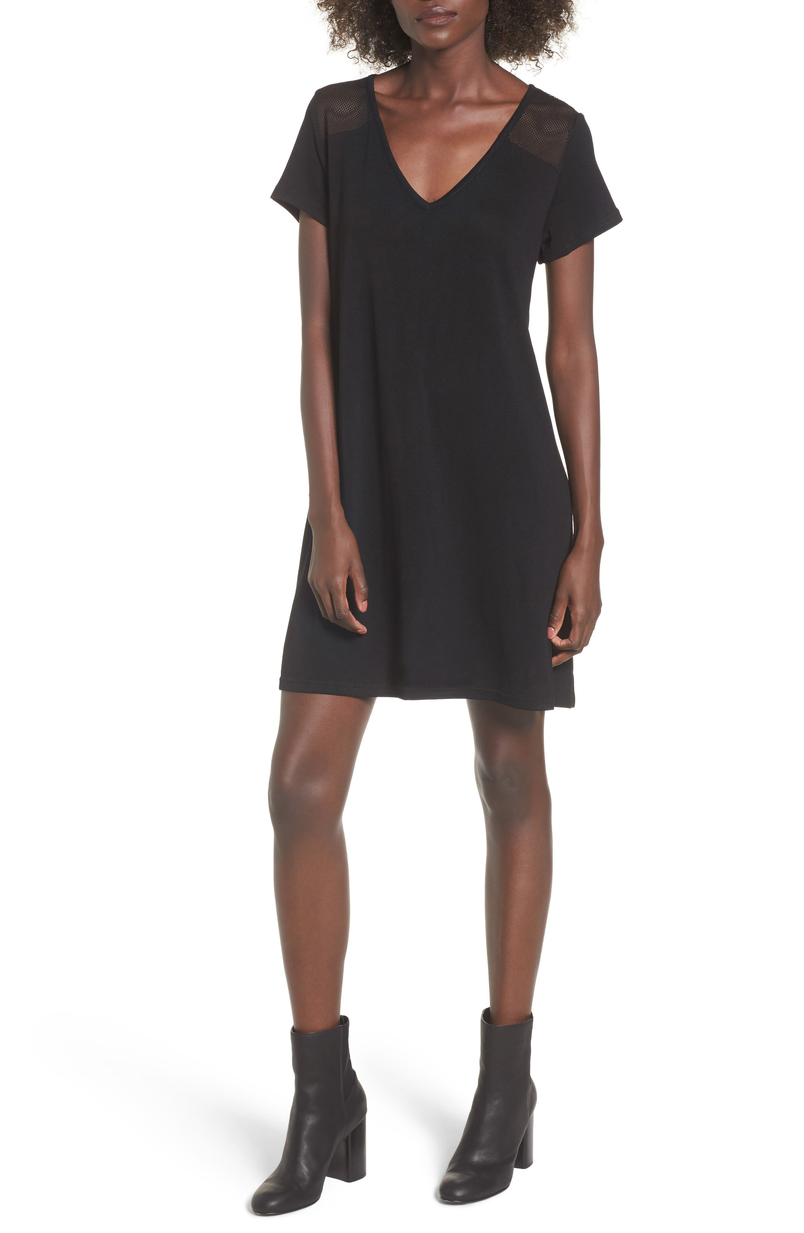 Melbourne T-Shirt Dress,                             Main thumbnail 1, color,