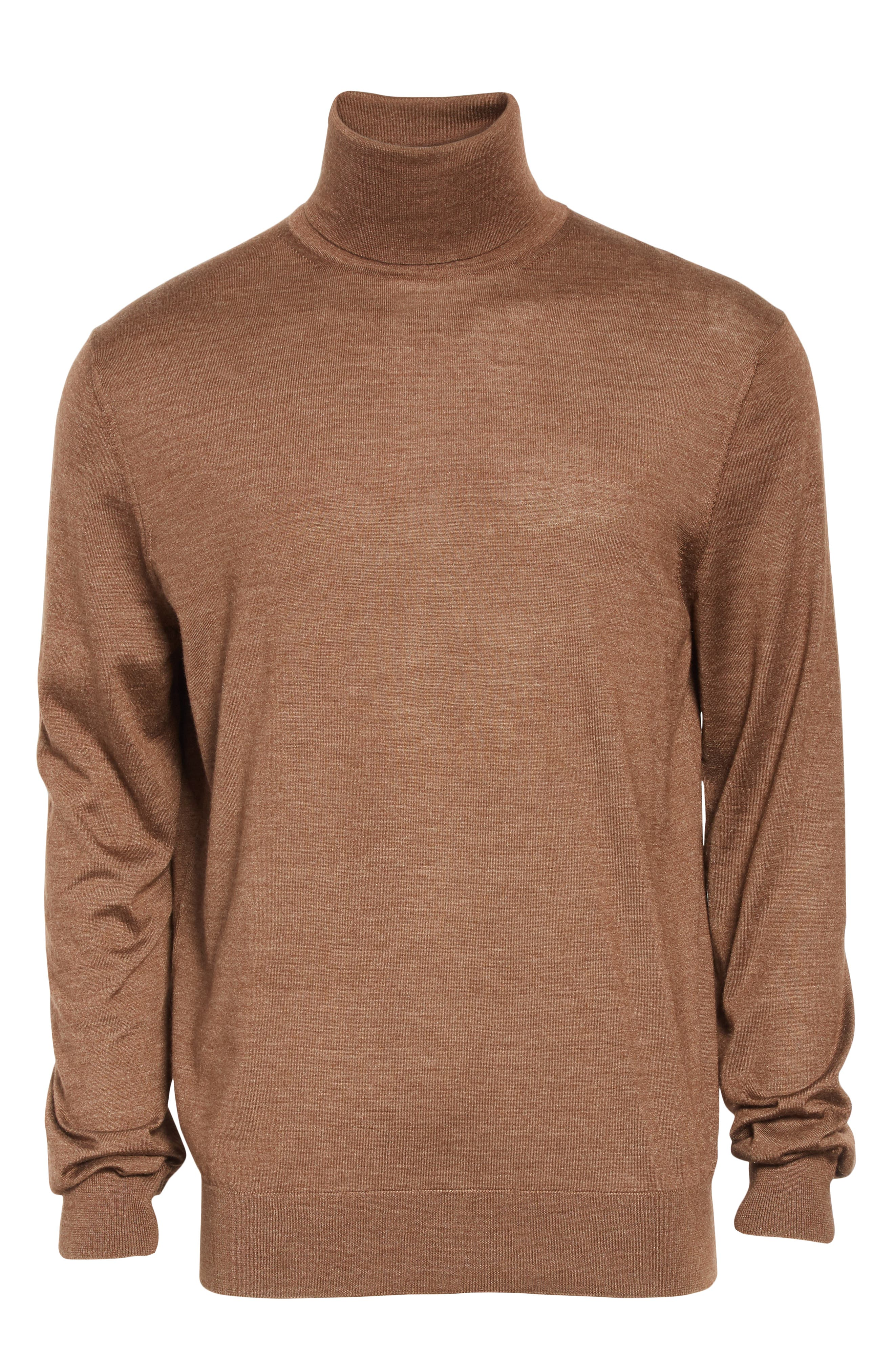 Cashmere & Silk Turtleneck Sweater,                             Alternate thumbnail 6, color,                             252