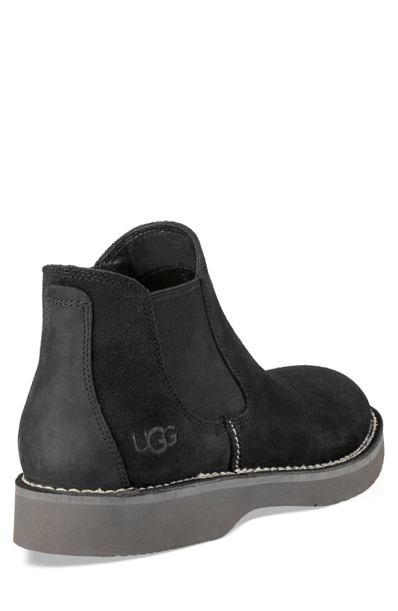 Camino Chelsea Boot,                             Alternate thumbnail 2, color,                             BLACK