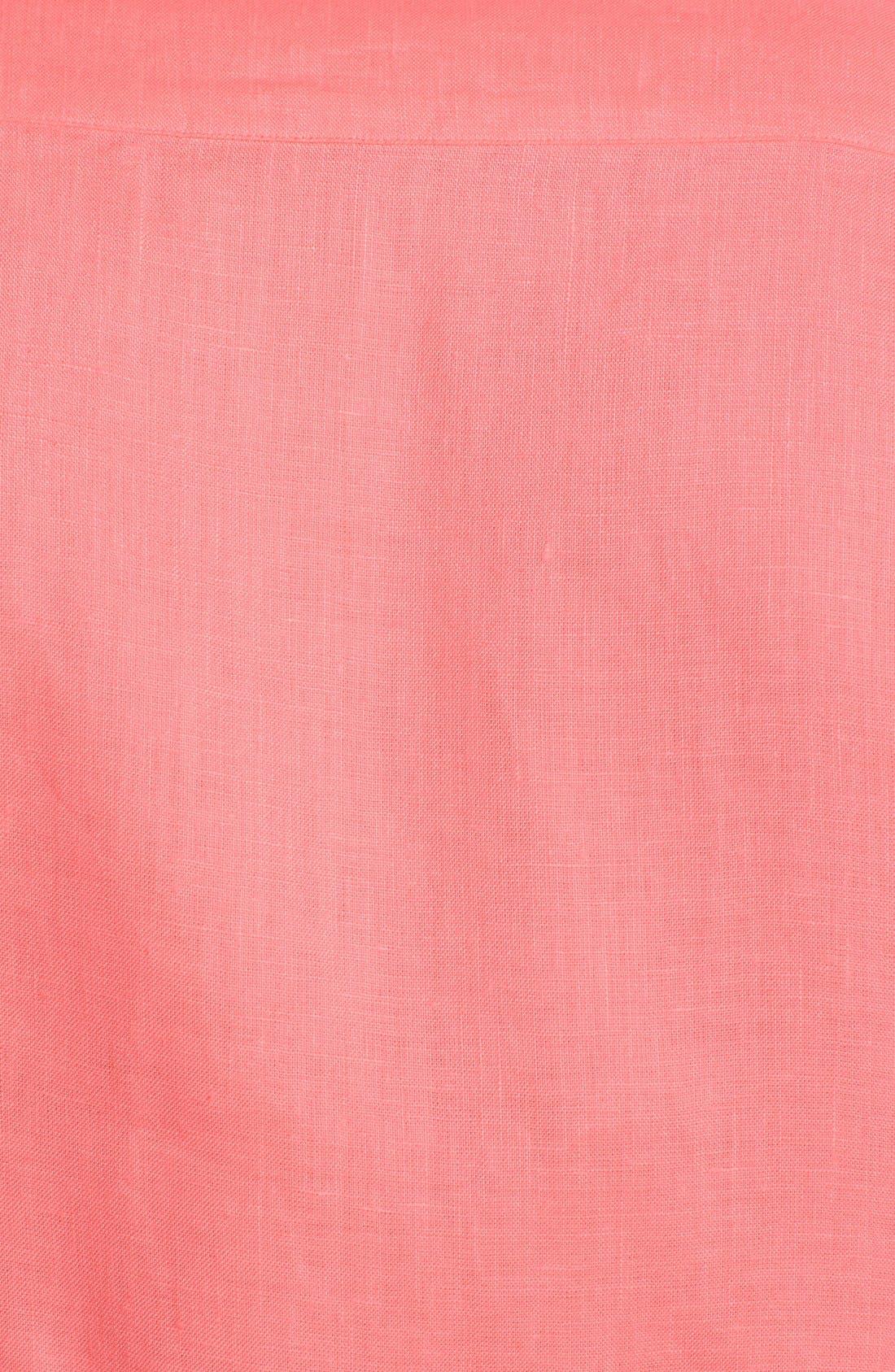 'Caroubier' Linen Shirt,                             Alternate thumbnail 29, color,