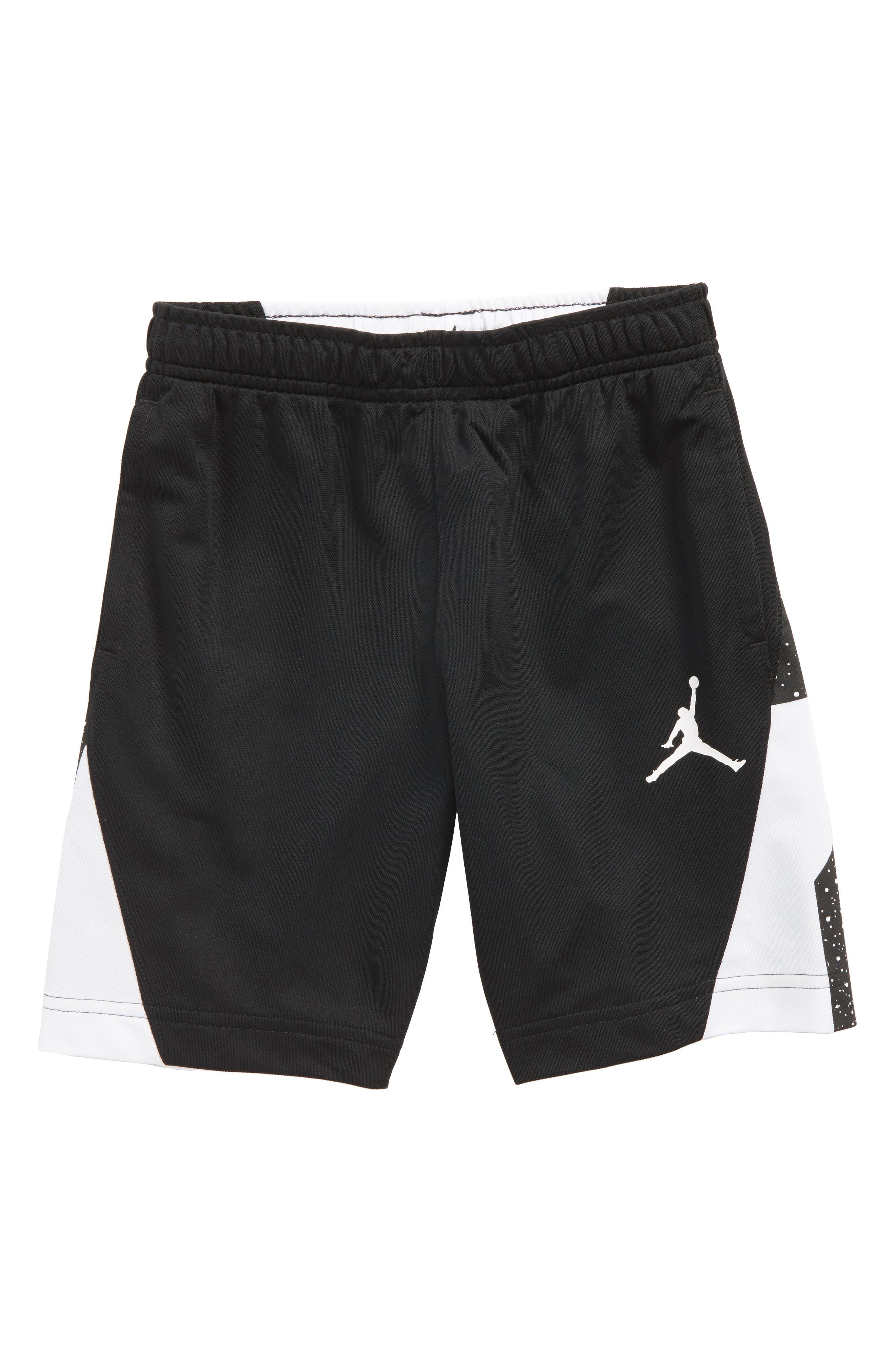 Jordan Dry Speckle 23 Training Shorts,                         Main,                         color, 001