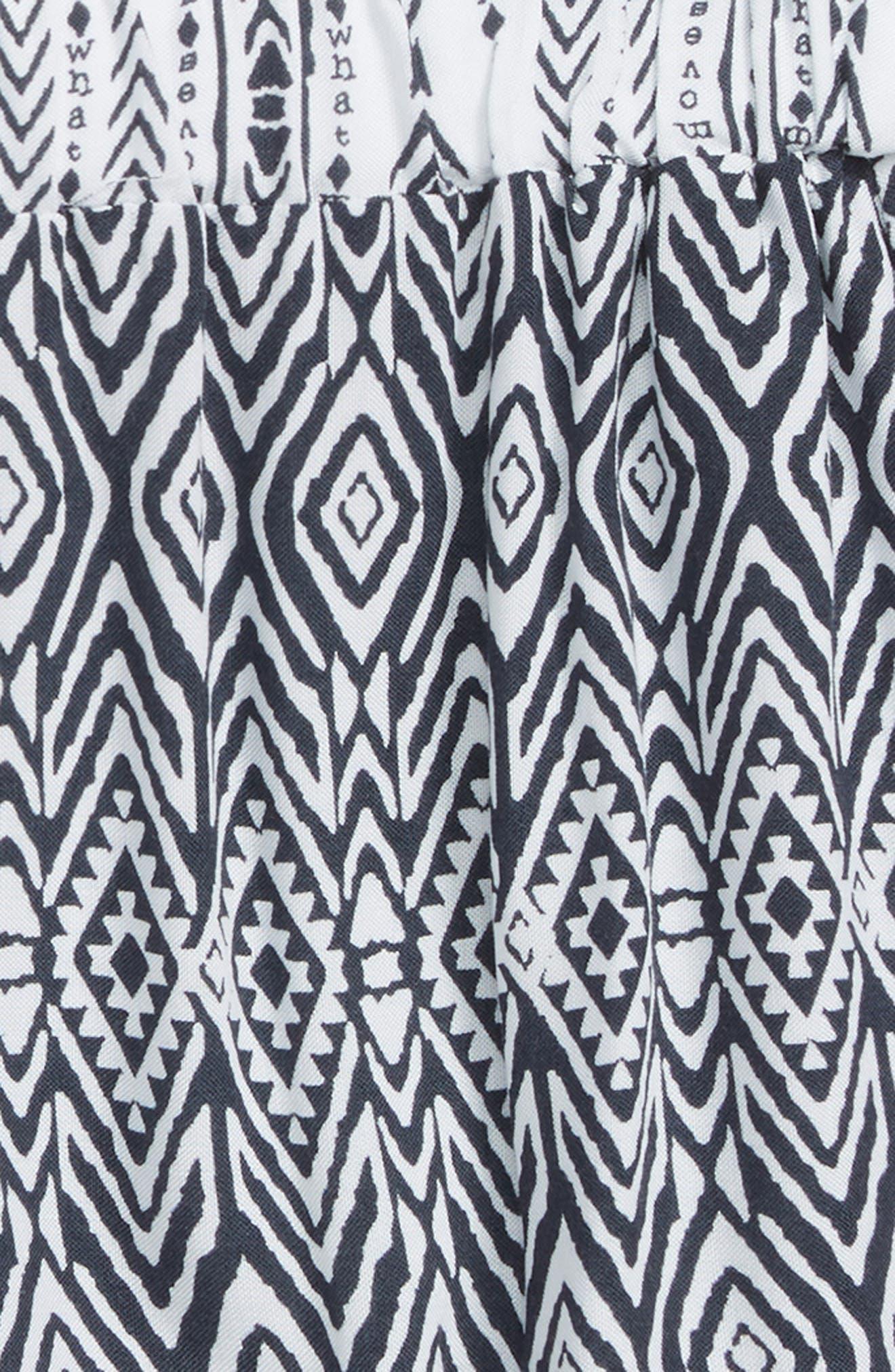 Tribal Print Shorts,                             Alternate thumbnail 2, color,
