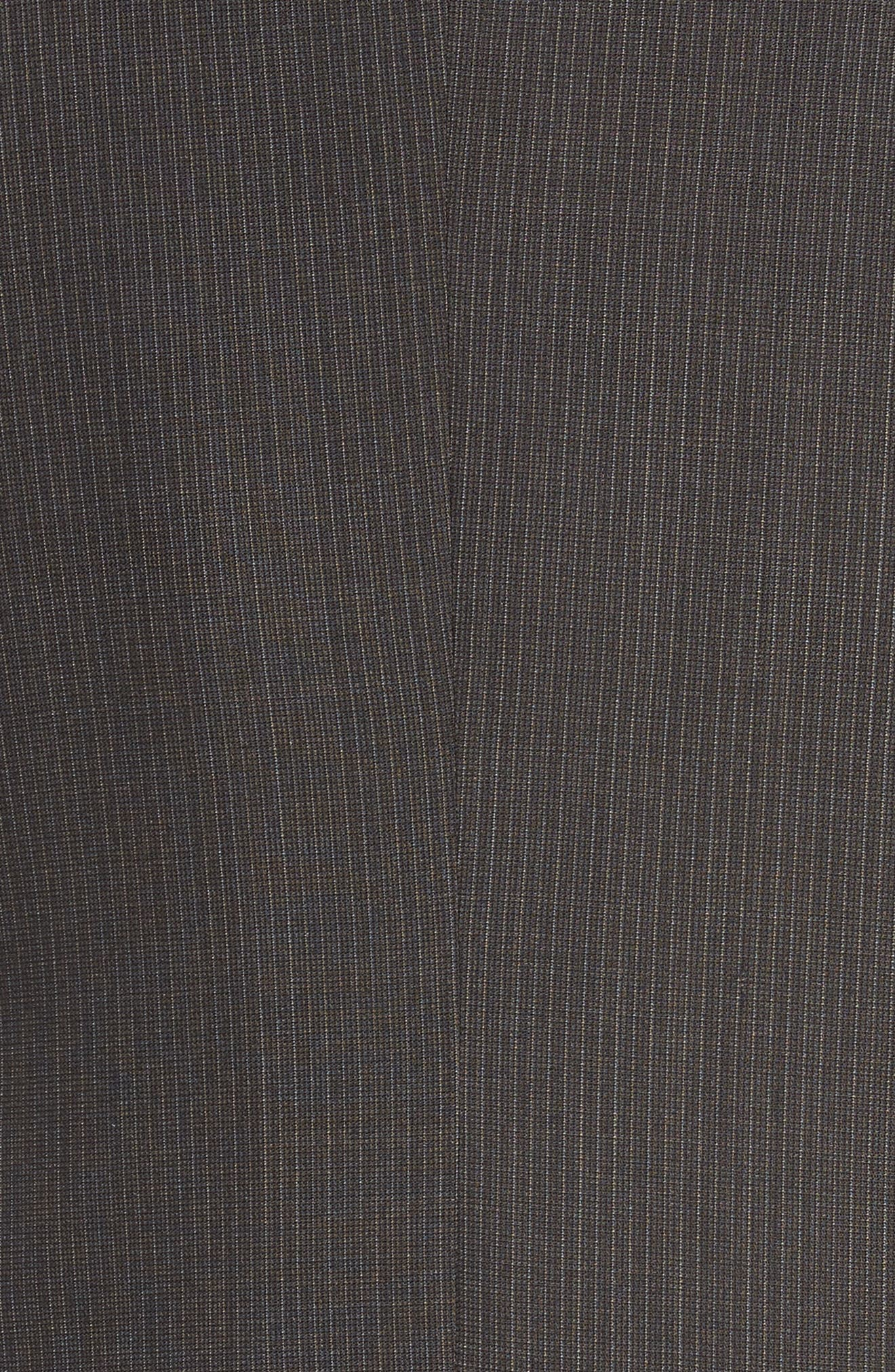 New York Classic Fit Stripe Wool Suit,                             Alternate thumbnail 7, color,                             020