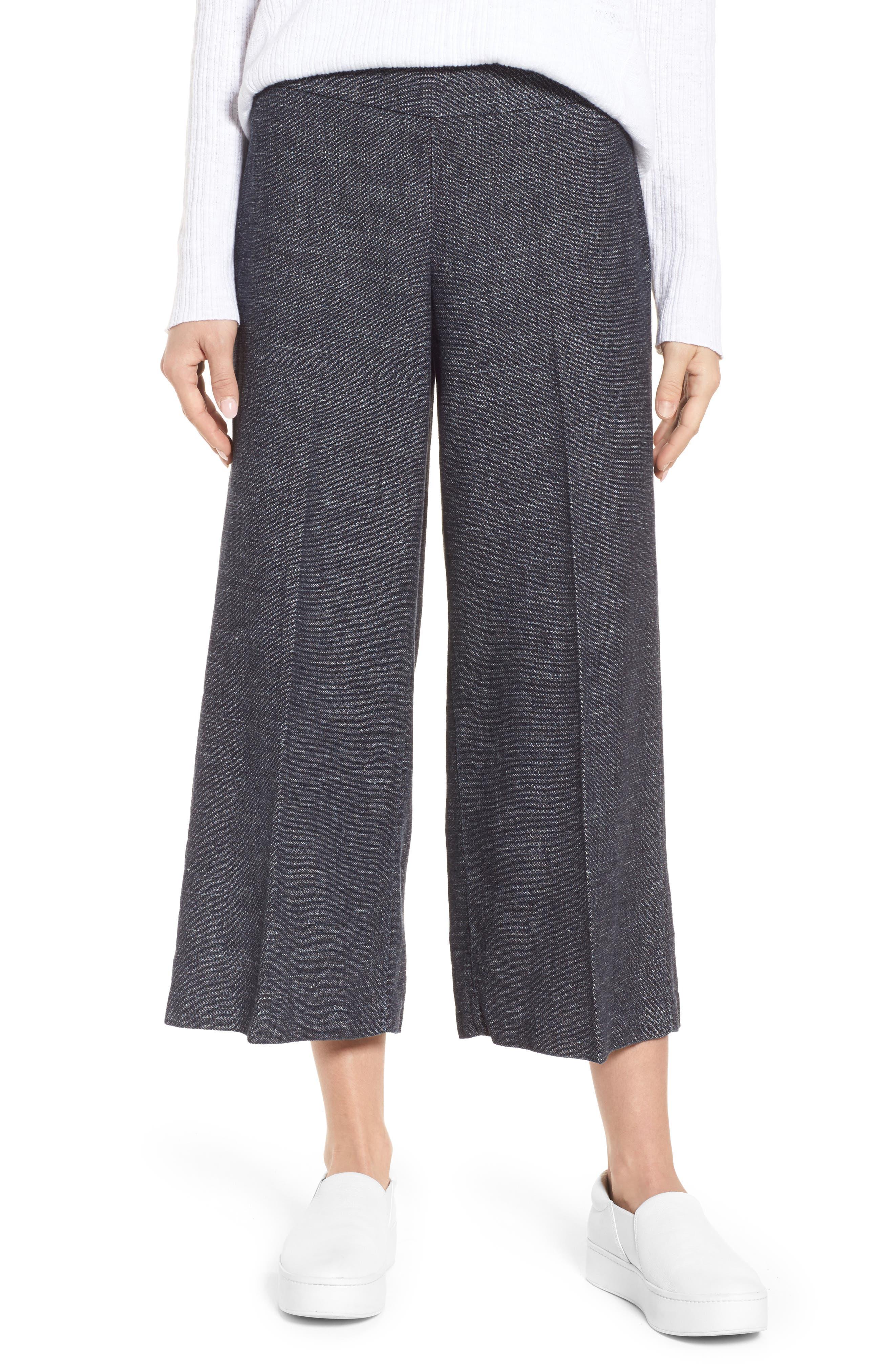 Crop Wide Leg Pants,                         Main,                         color, 402