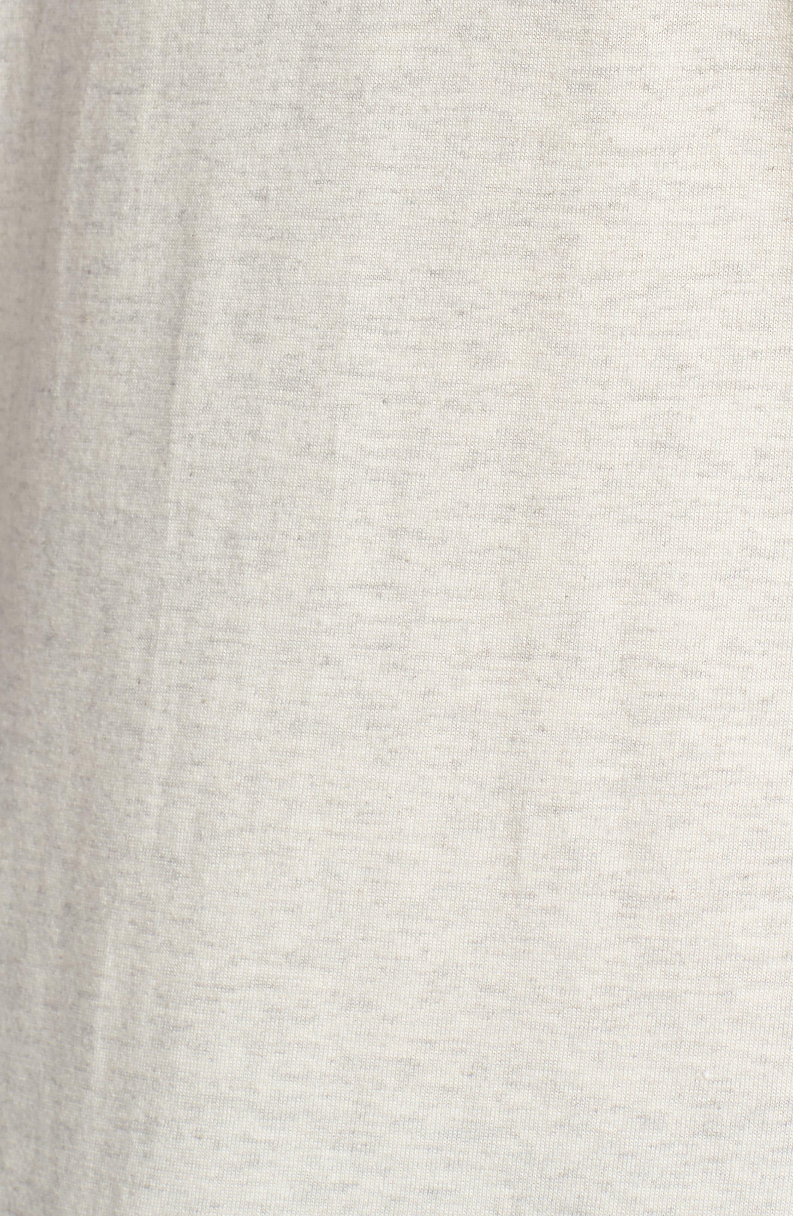 Supreme Comfort Crewneck T-Shirt,                             Alternate thumbnail 5, color,                             026