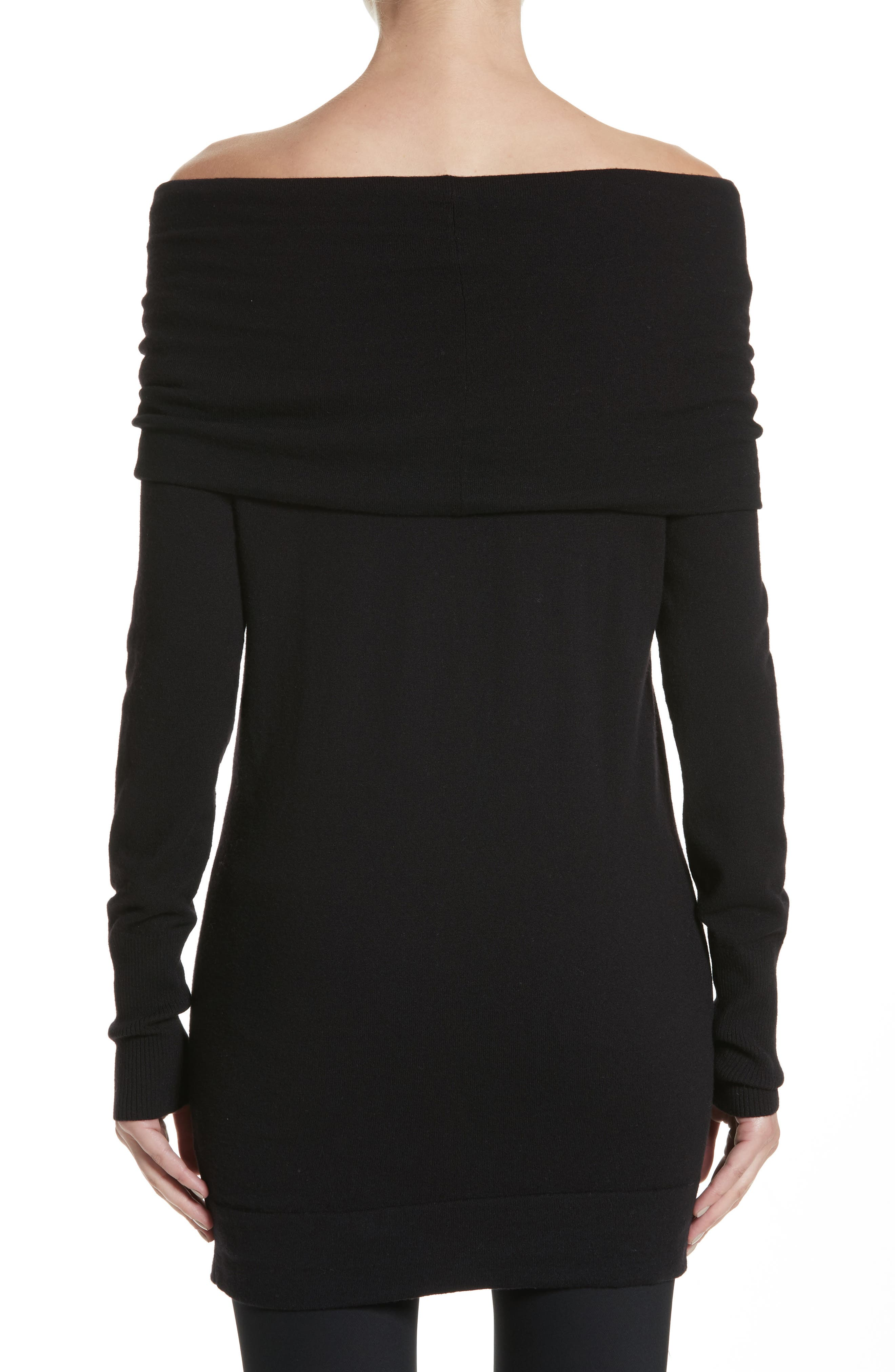 Convertible Off the Shoulder Sweater,                             Alternate thumbnail 3, color,