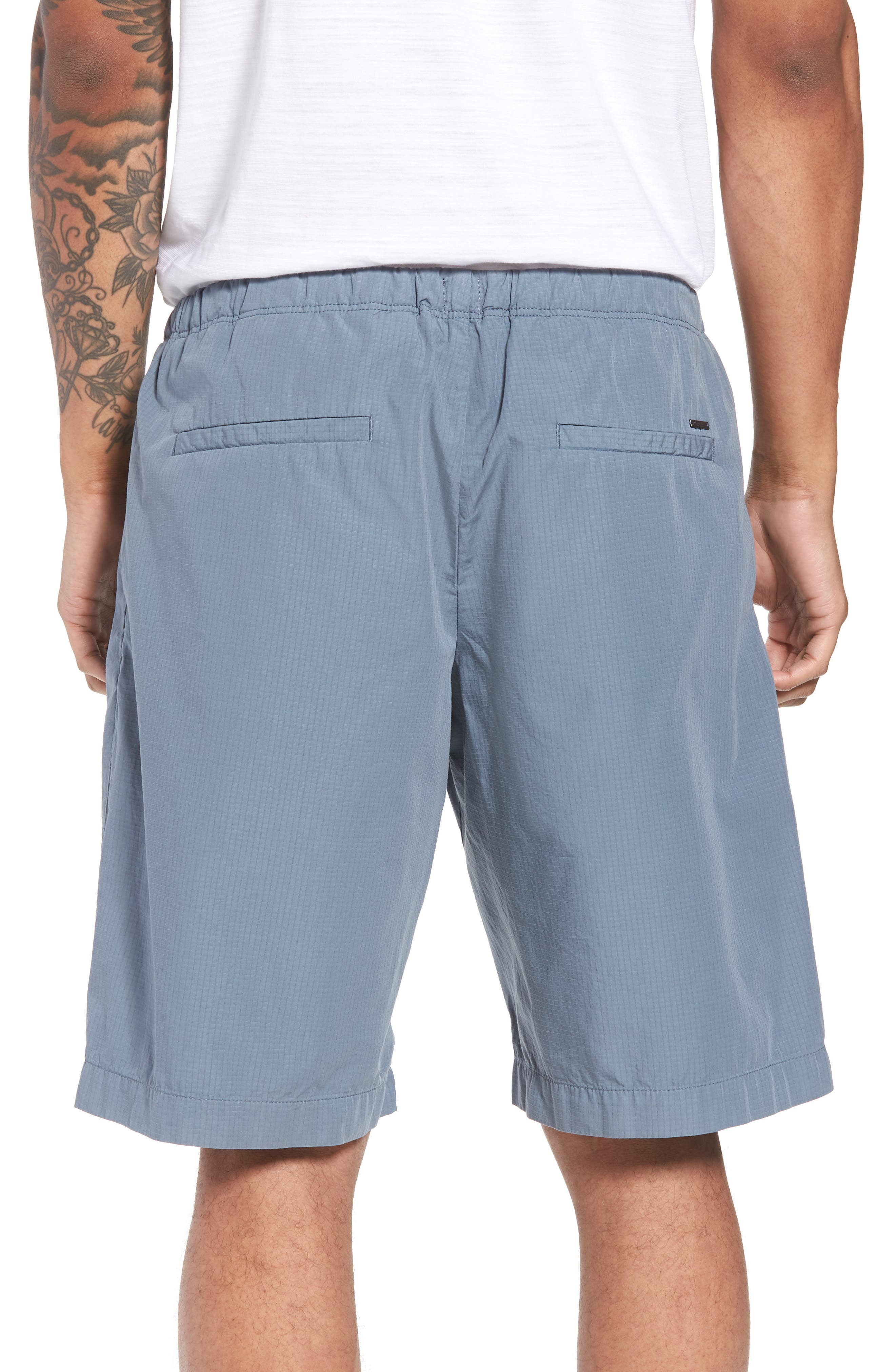 Passeo Cotton Shorts,                             Alternate thumbnail 2, color,                             GREY