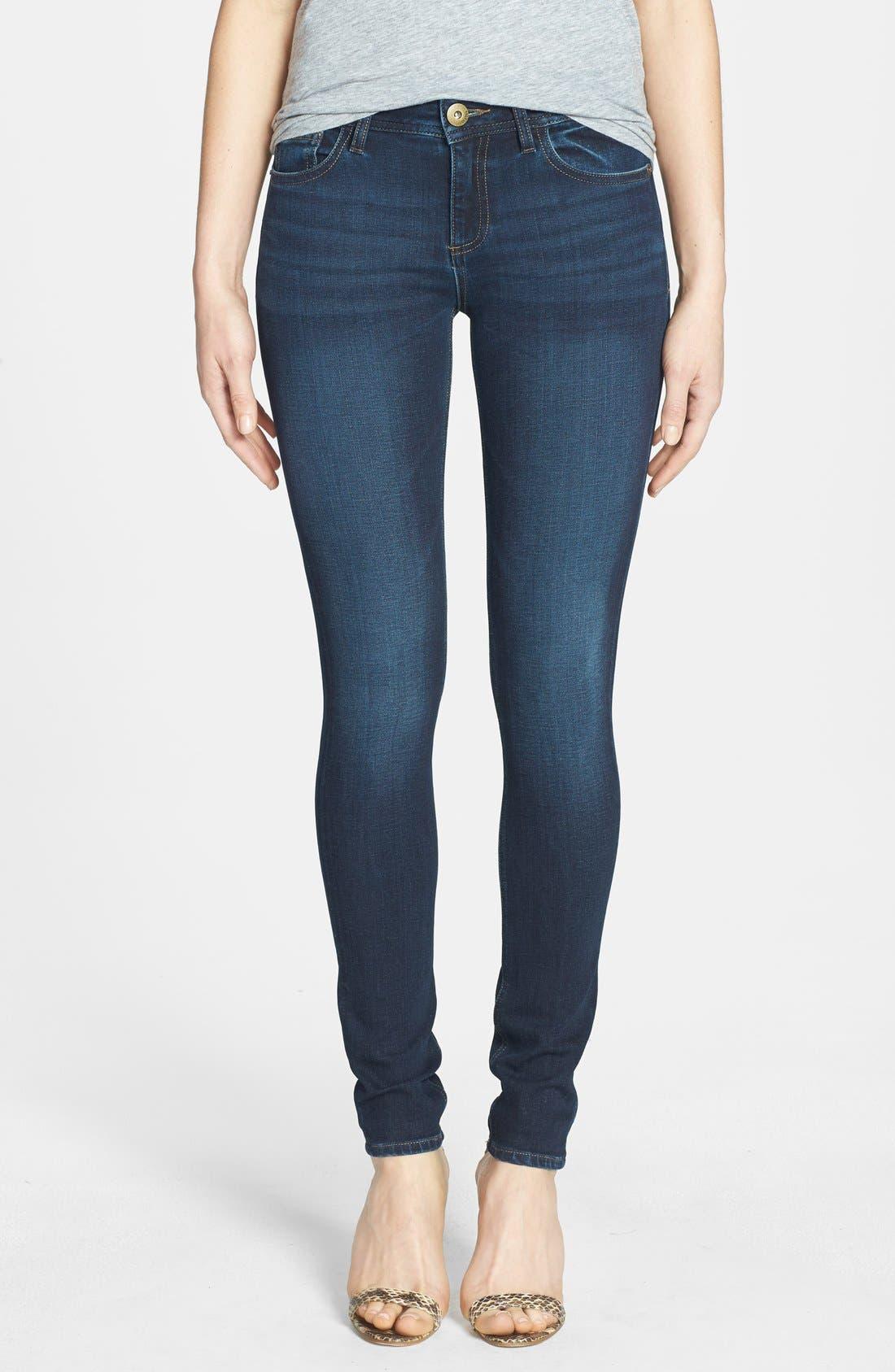 'Florence' Instasculpt Skinny Jeans,                         Main,                         color, WARNER